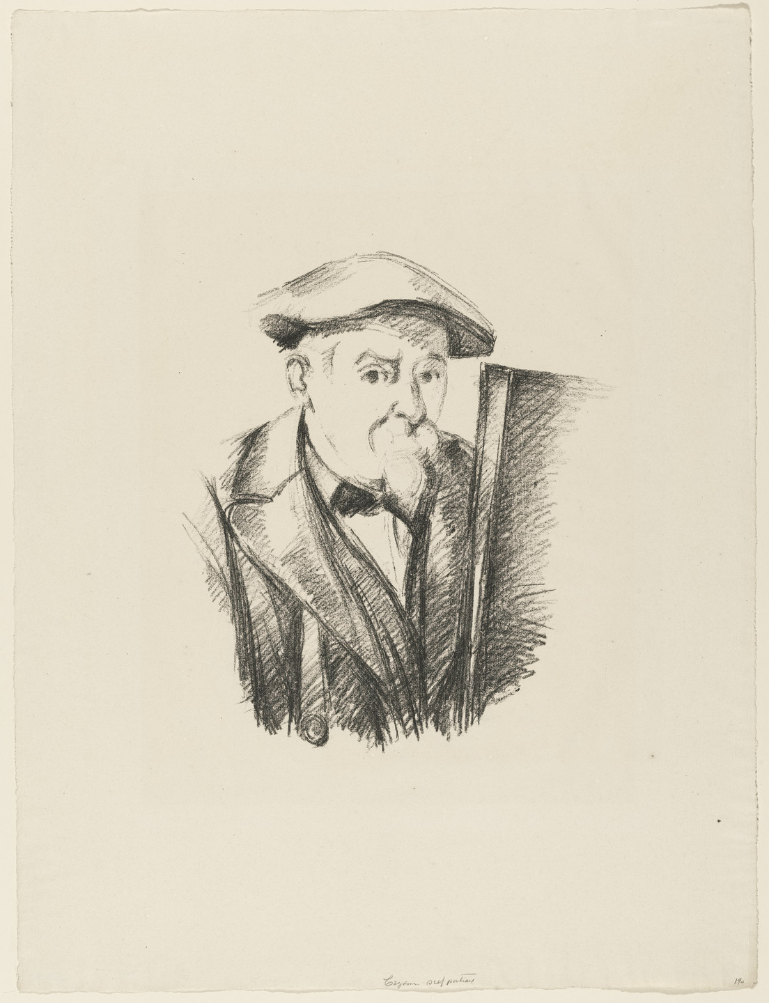 Paul Cézanne. Portrait of Cézanne. c. 1898–1900
