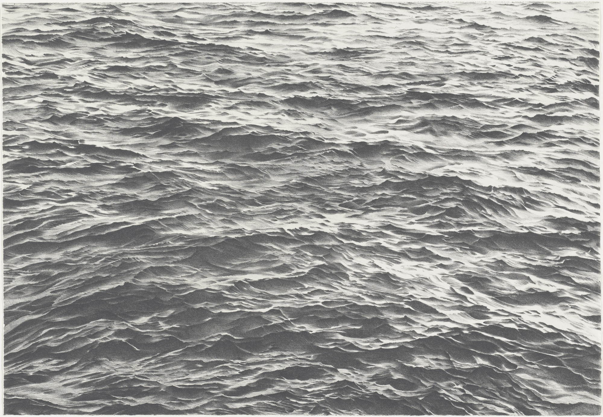 Vija Celmins. Untitled. 1970