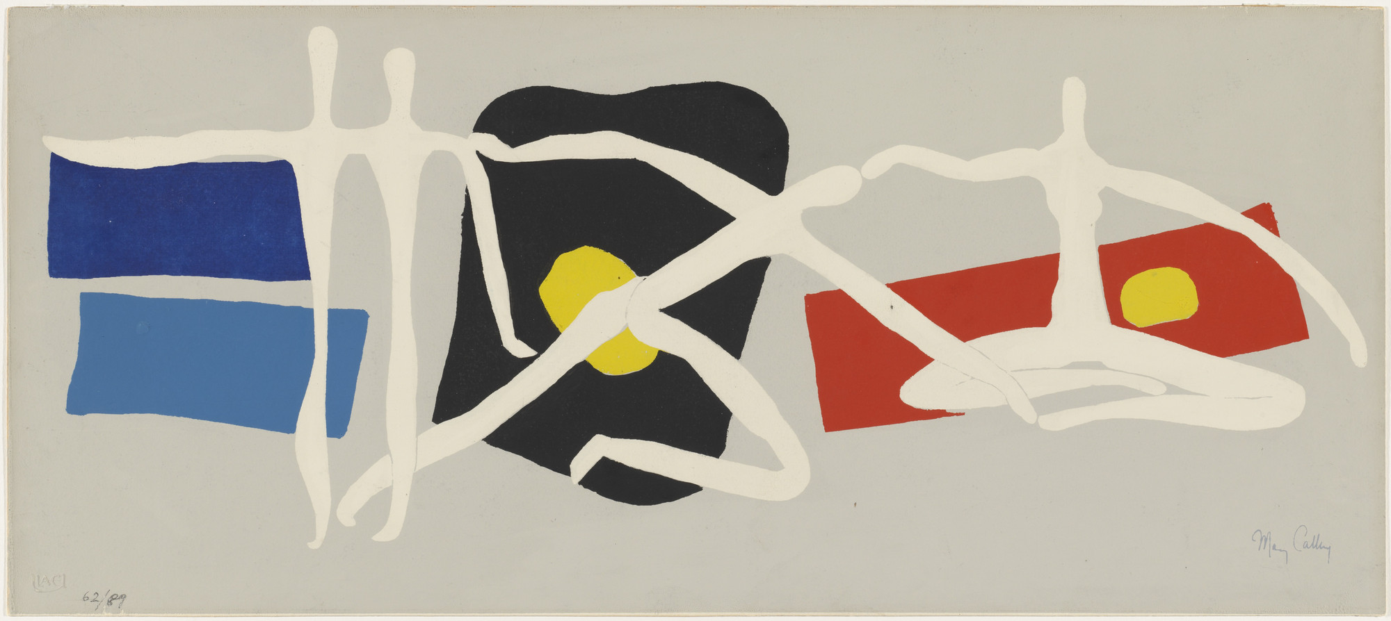 "Mary Callery. Variations on a Theme of  ""Callery-Léger"". (c. 1955)"