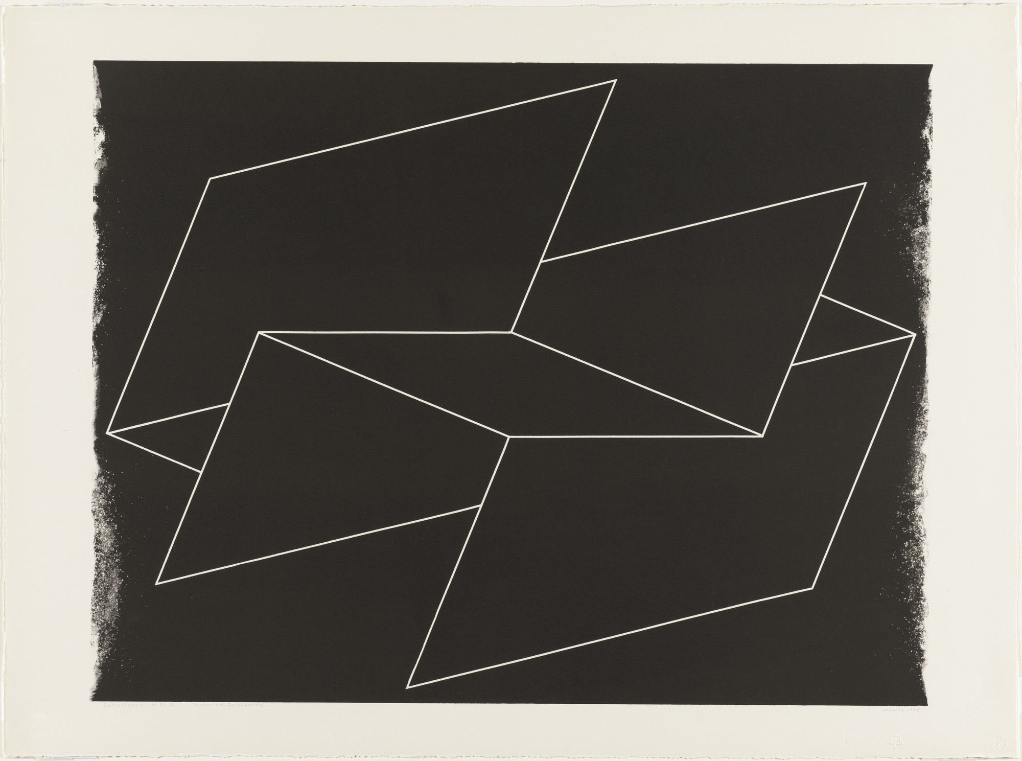Josef Albers. Interlinear N 32 bl. (May 11-June 6) 1962