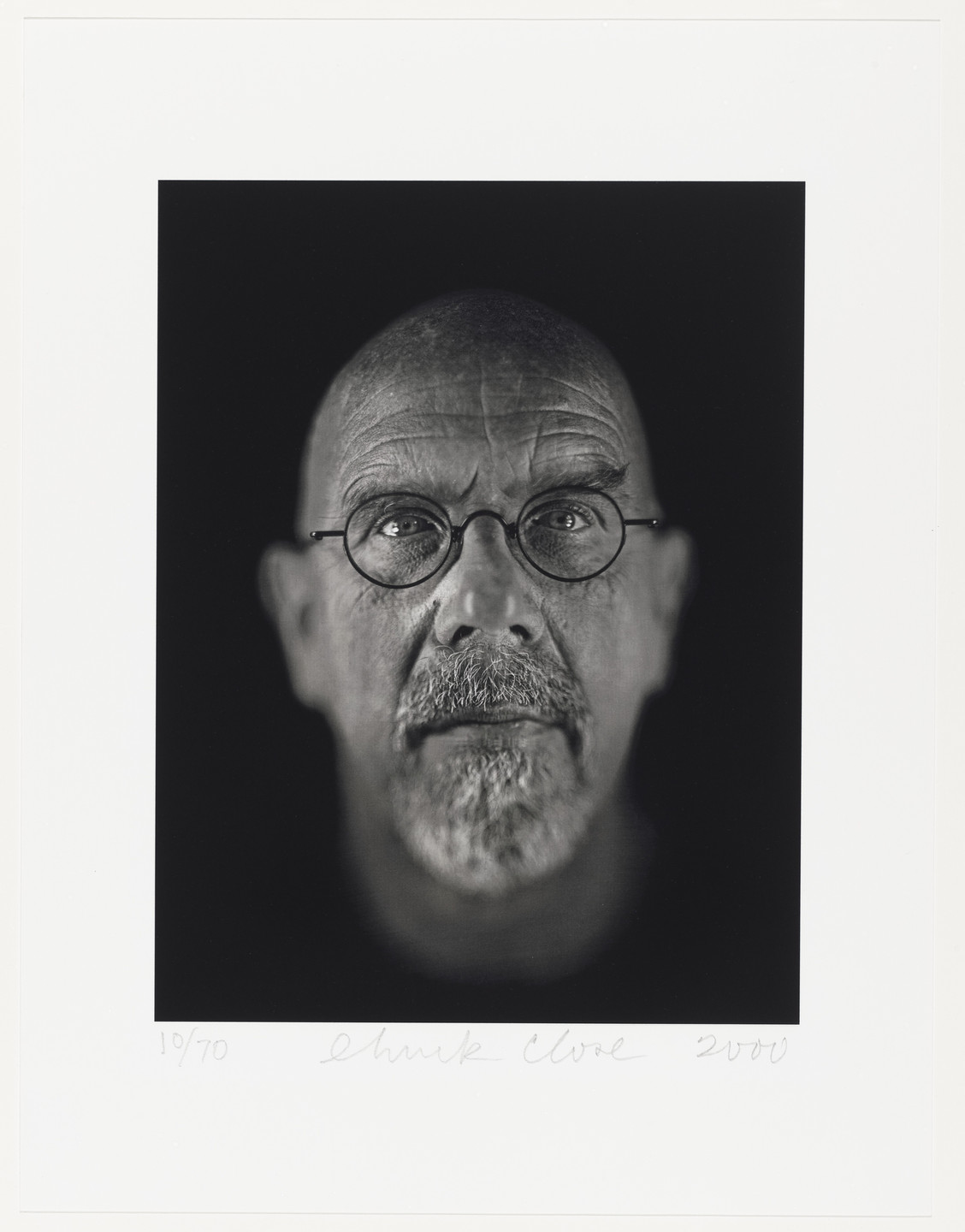 Chuck Close. Self-Portrait (for Parkett no. 60). 2000