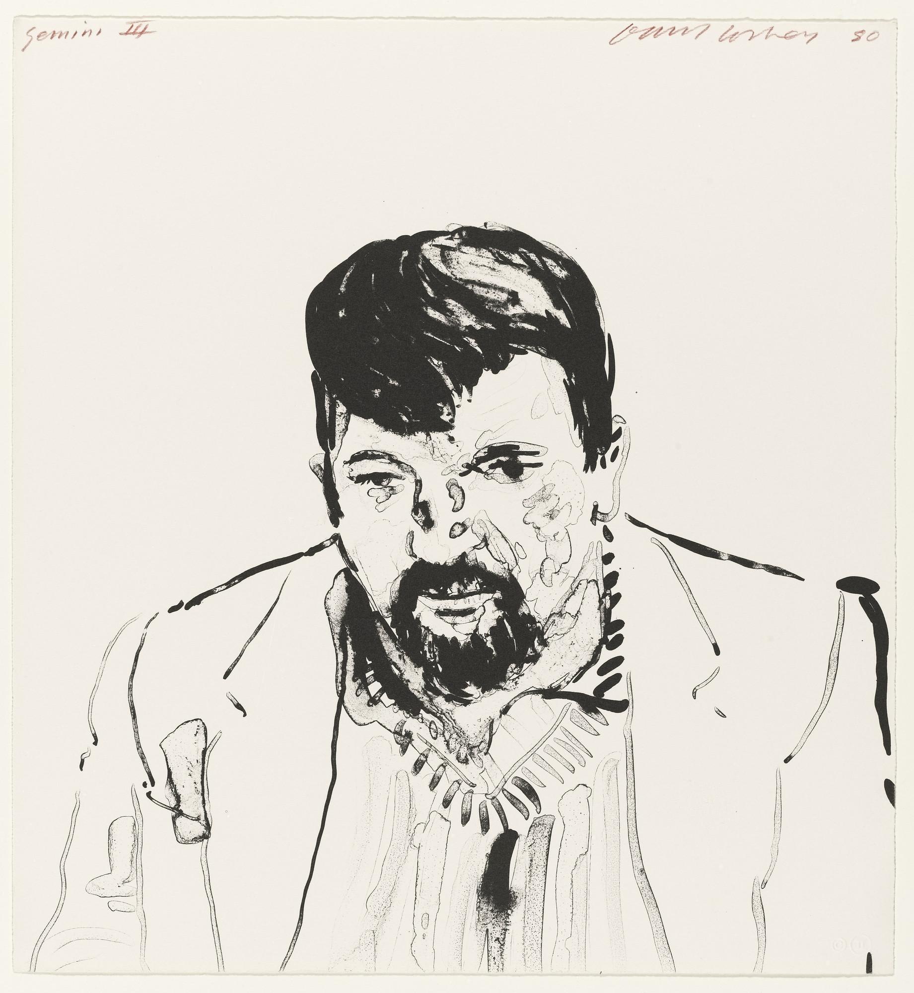 David Hockney. John Hockney. 1980   MoMA