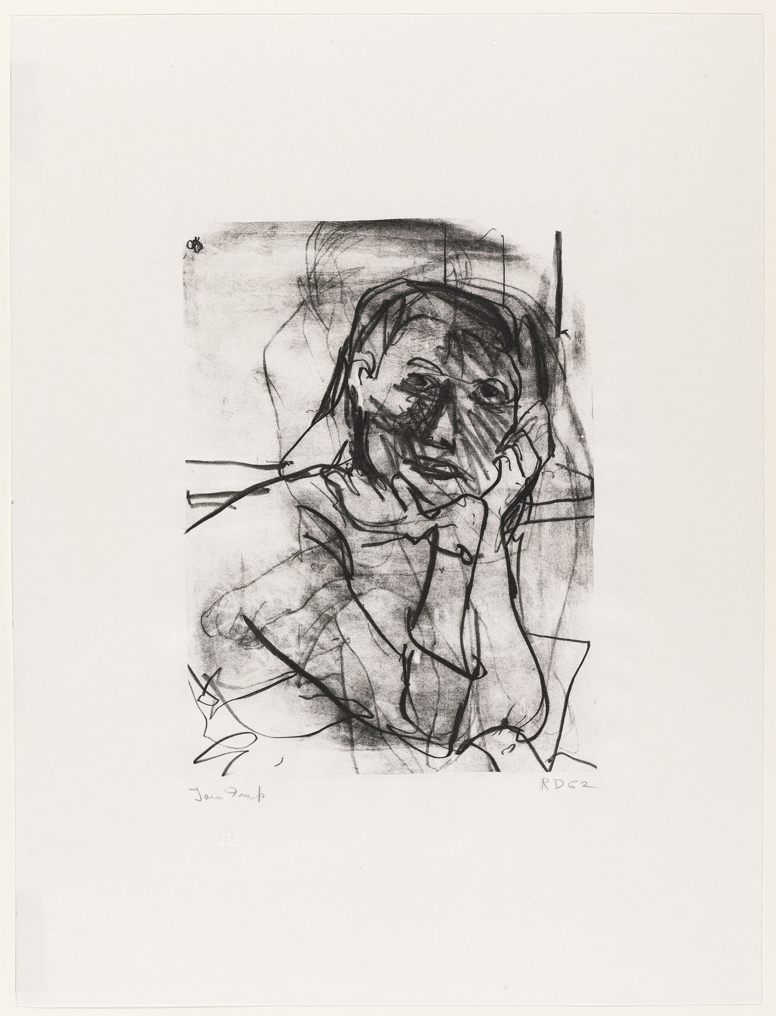 Richard Diebenkorn. N. W.. (May 11-14) 1962