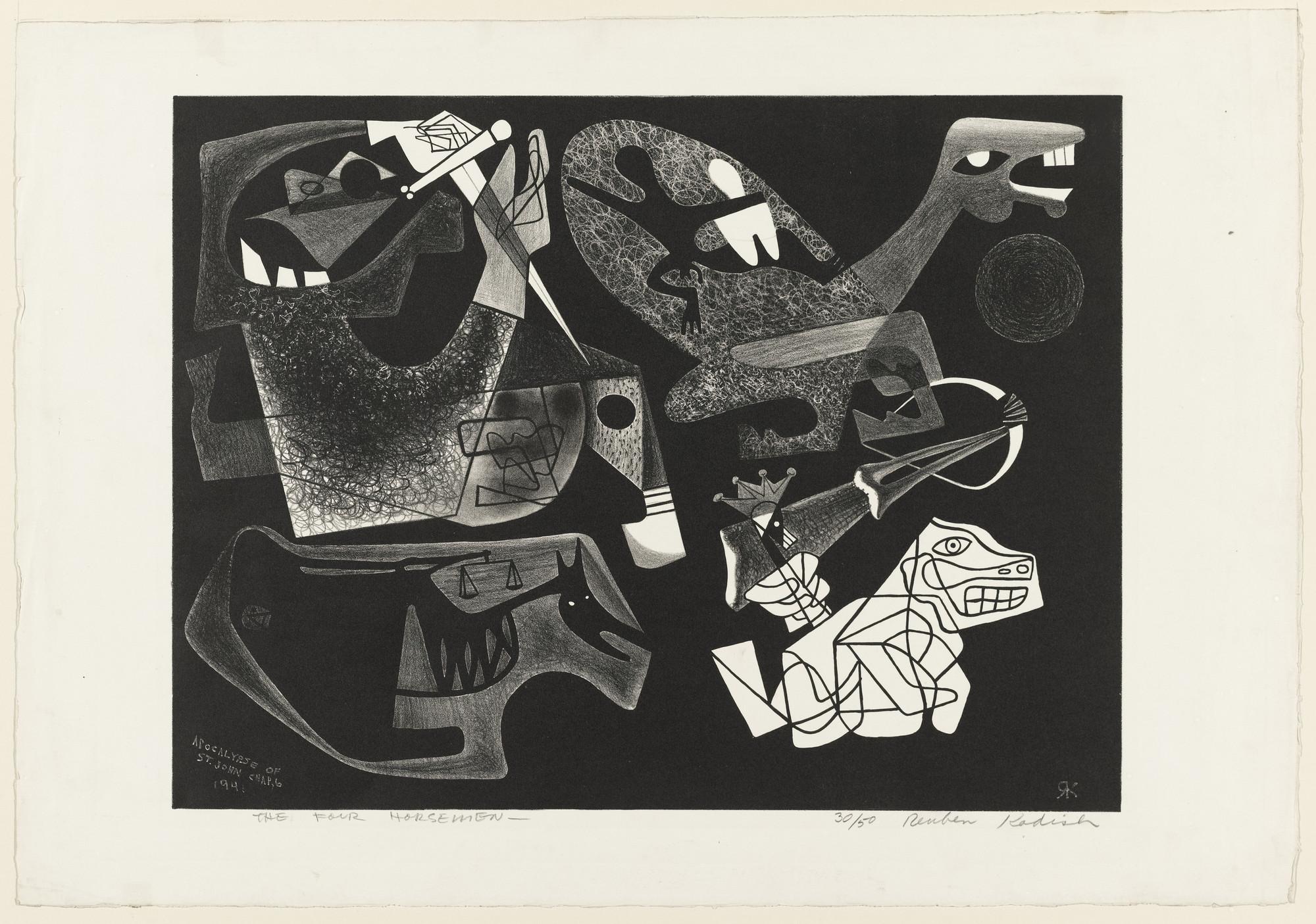 Reuben Kadish  The Four Horsemen  1941   MoMA