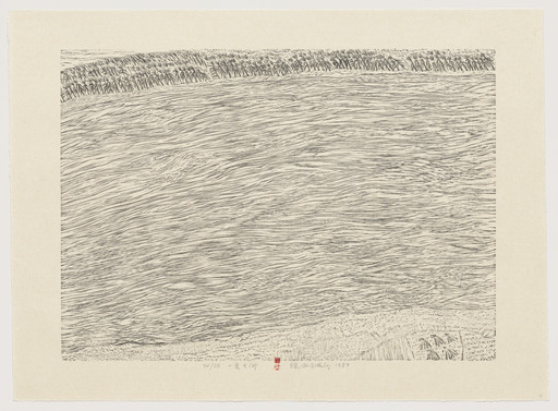 Xu Bing. A Big River from Series of Repetitions. 1987