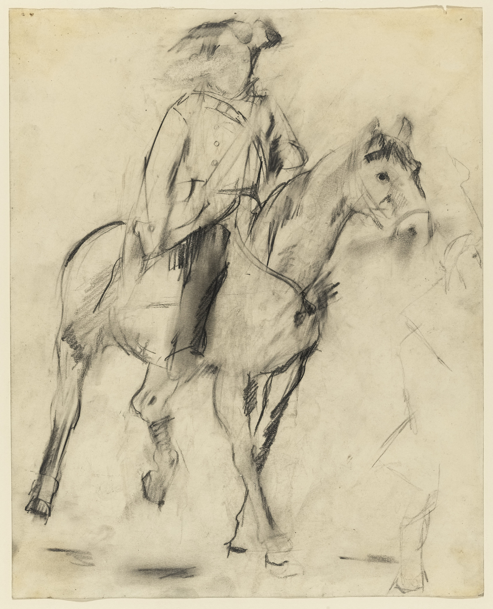 Larry Rivers. Study for George Washington Crossing the Delaware. (1953)