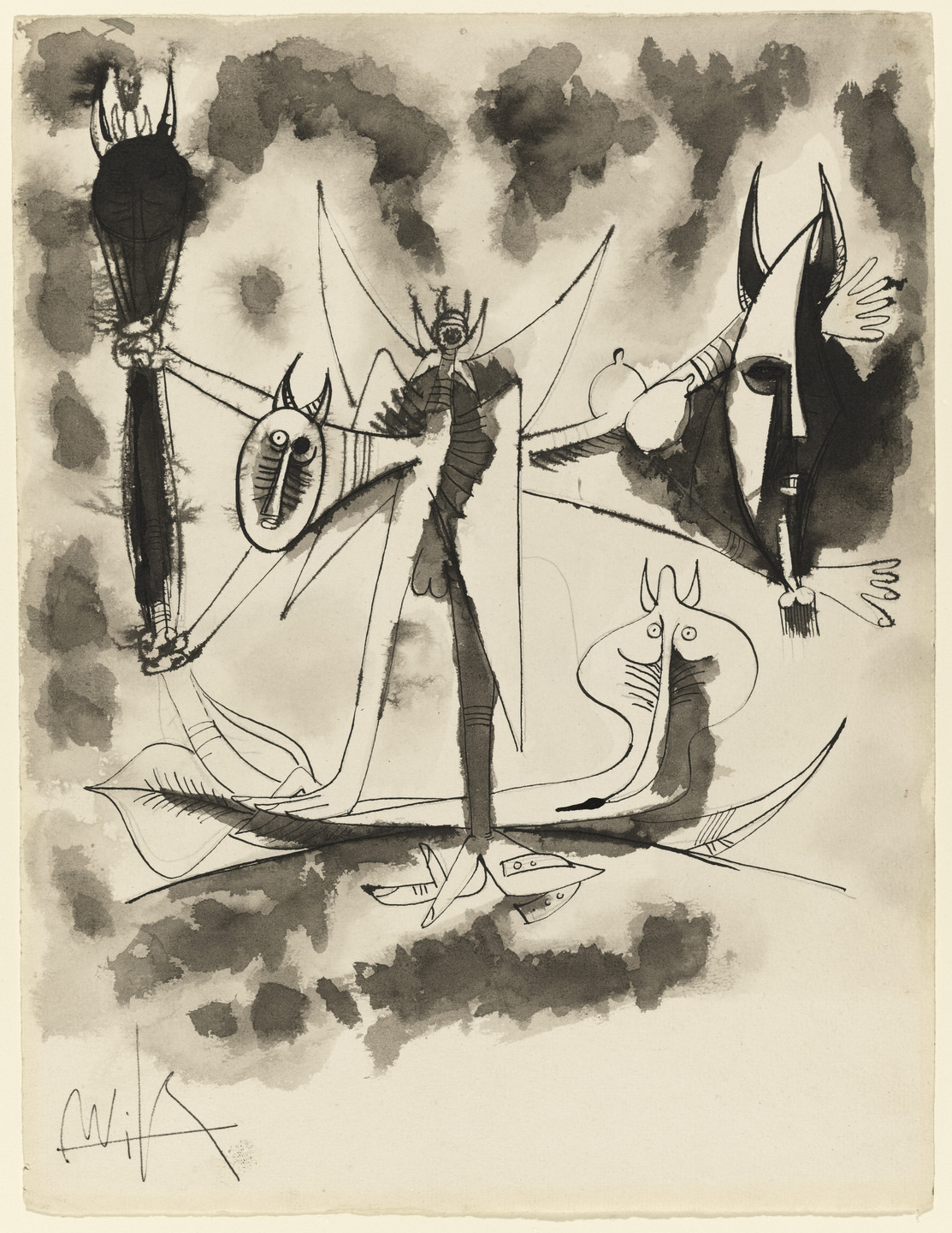 Wifredo Lam. Untitled. 1946
