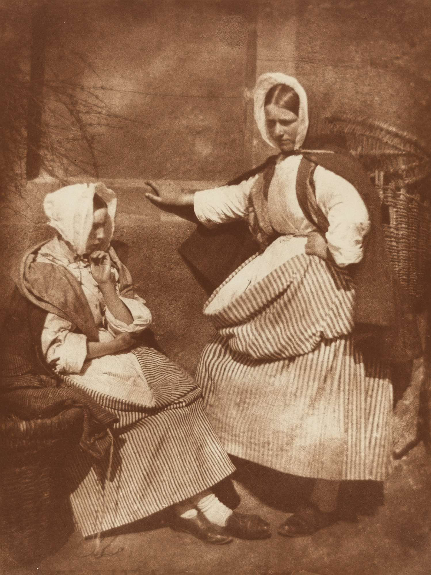 David Octavius Hill, Robert Adamson. Newhaven Fishwives. 1840