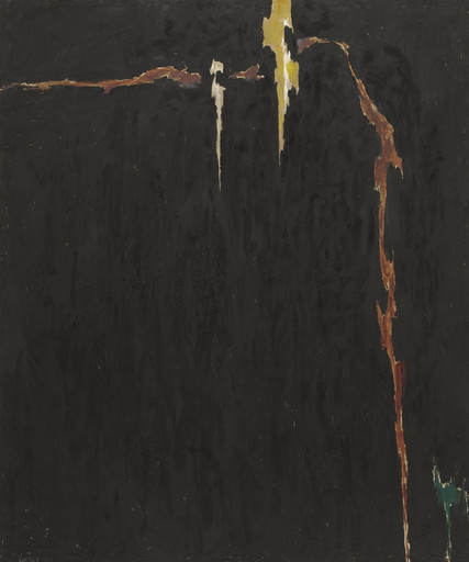 Clyfford Still. 1944-N No. 2. 1944