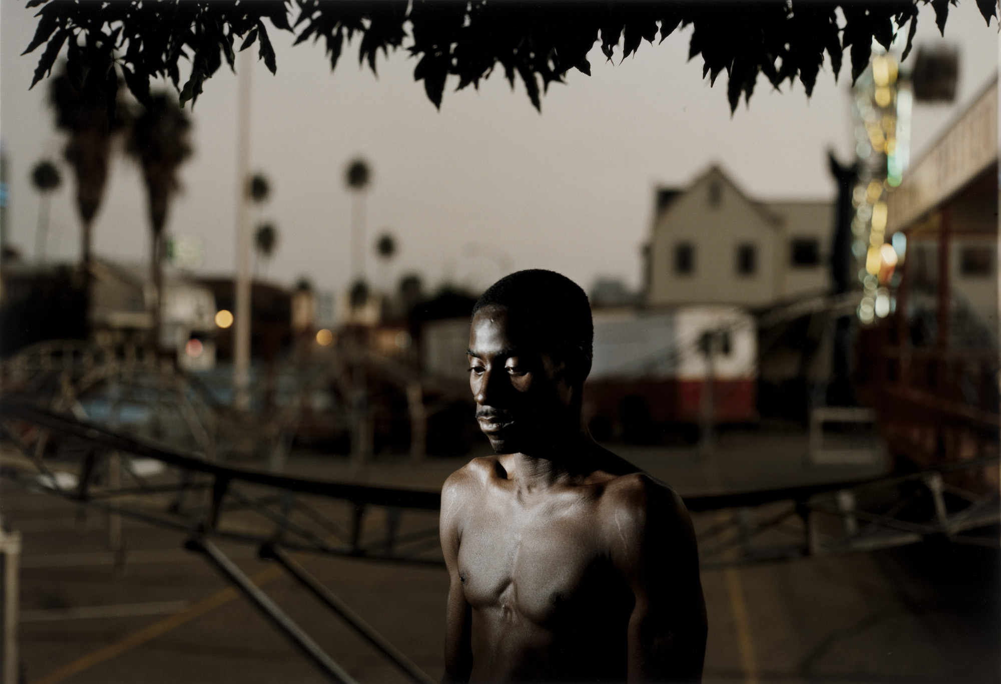 Philip-Lorca diCorcia. André Smith; 28 Years Old; Baton Rouge, Louisiana; $30. 1990-92