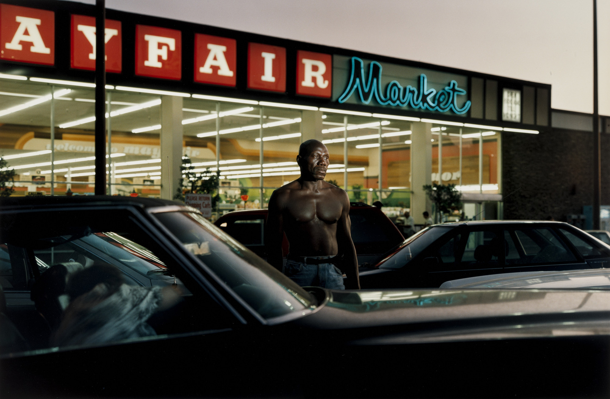 Philip-Lorca diCorcia. Ike Cole; 38 Years Old; Los Angeles, California; $25. 1990-92