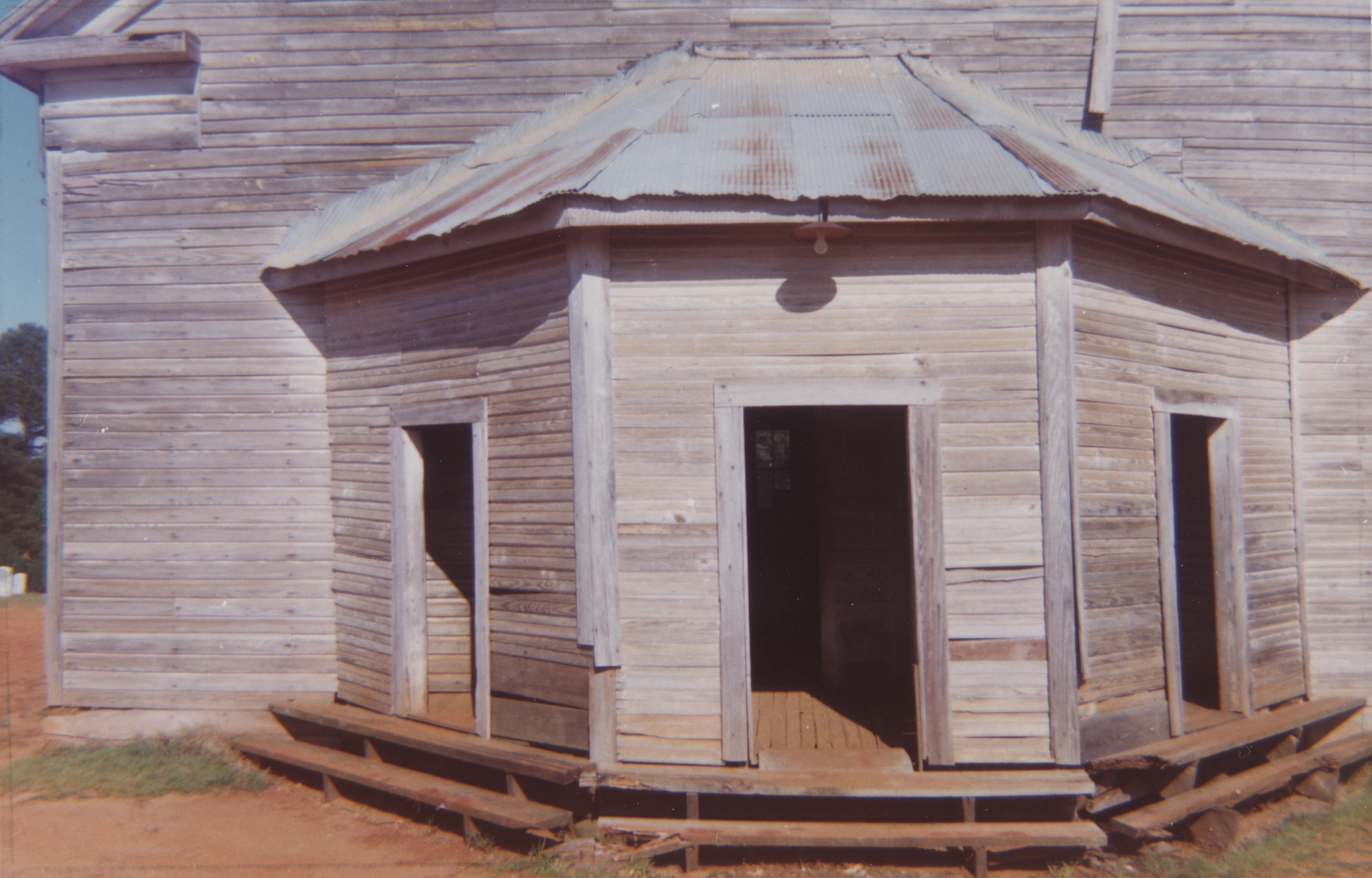 William Christenberry. Church, Havana Alabama. 1964