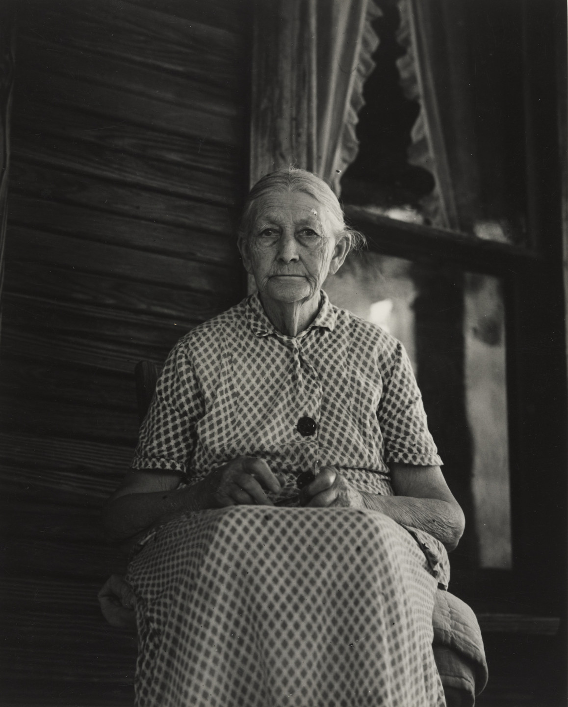 Dorothea Lange. Ma Burnham, Conroy, Arkansas. June 1938