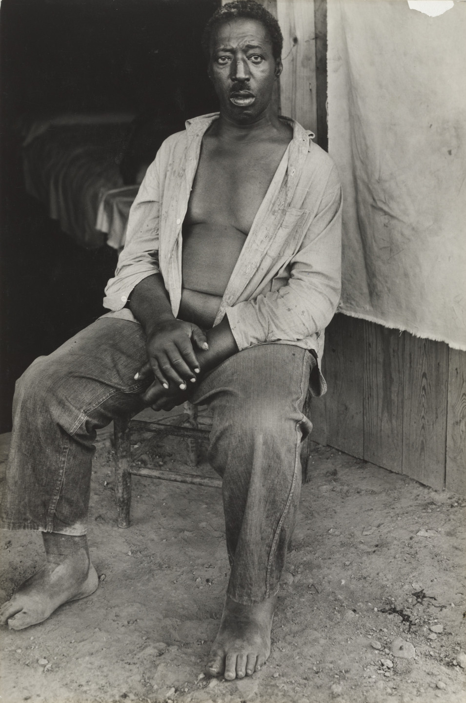 Sid Grossman. Dying Sharecropper, Lost Colony, Missouri. 1940