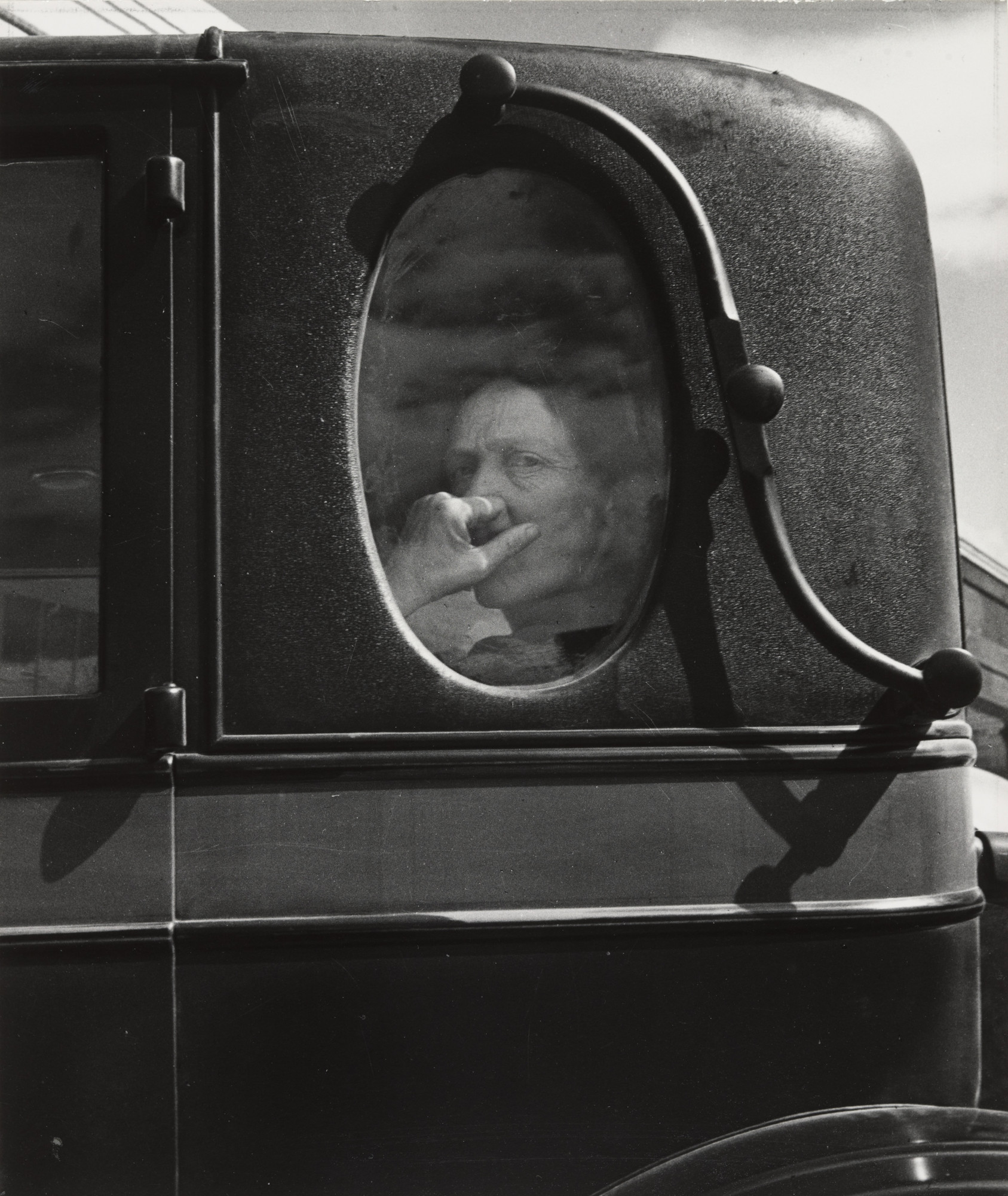 Dorothea Lange. Funeral Cortege, End of an Era in a Small Valley Town, California. 1938