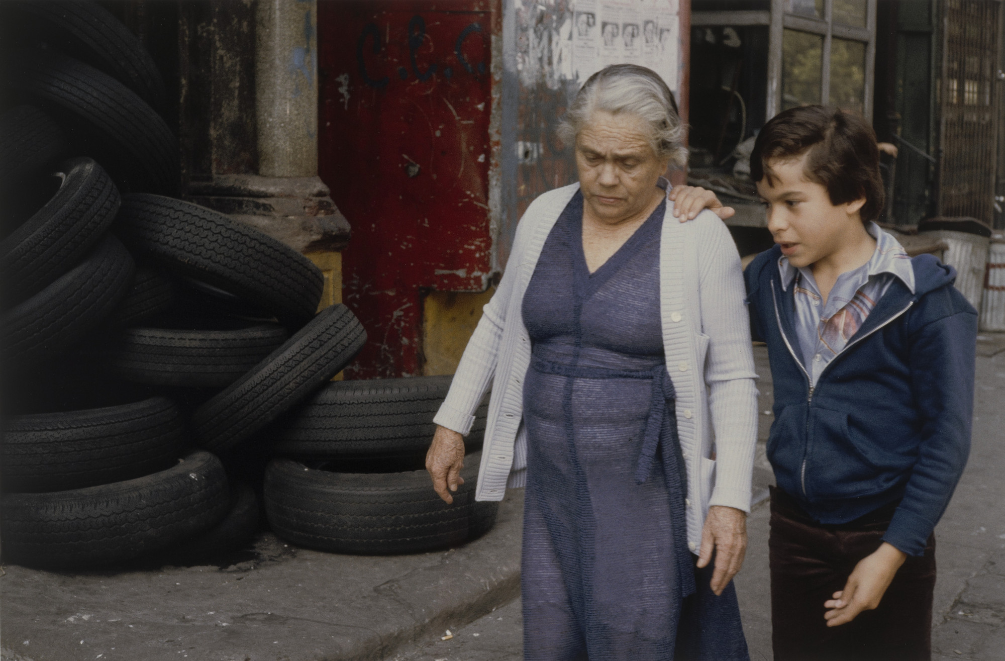 Helen Levitt. New York. 1984