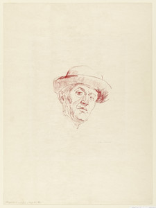 Self Portrait with Hat I