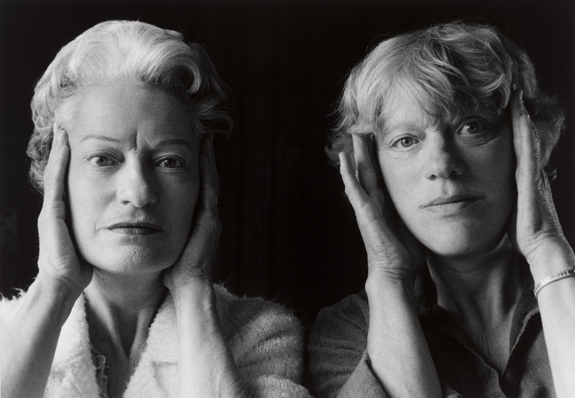 Anne Noggle. Reminiscence: Portrait with my Sister. 1980