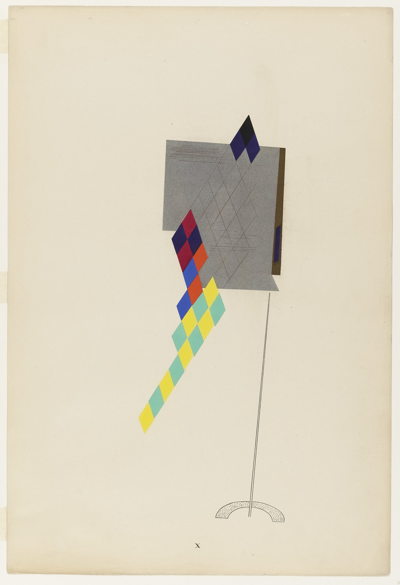 Man Ray (Emmanuel Radnitzky). Dragonfly from Revolving Doors. 1926