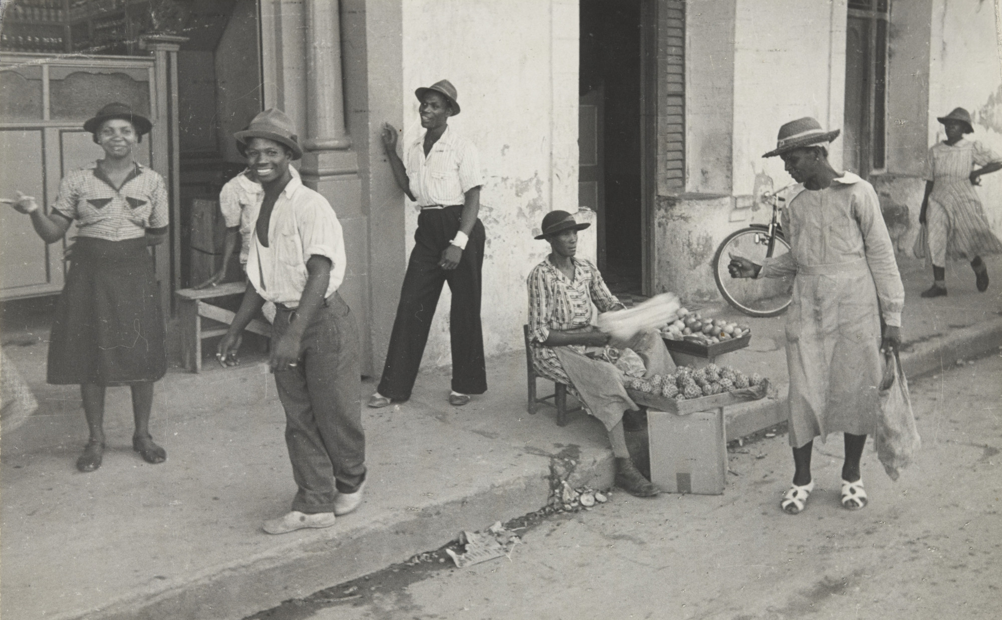 Rudy Burckhardt. Port of Spain, Trinidad. 1942