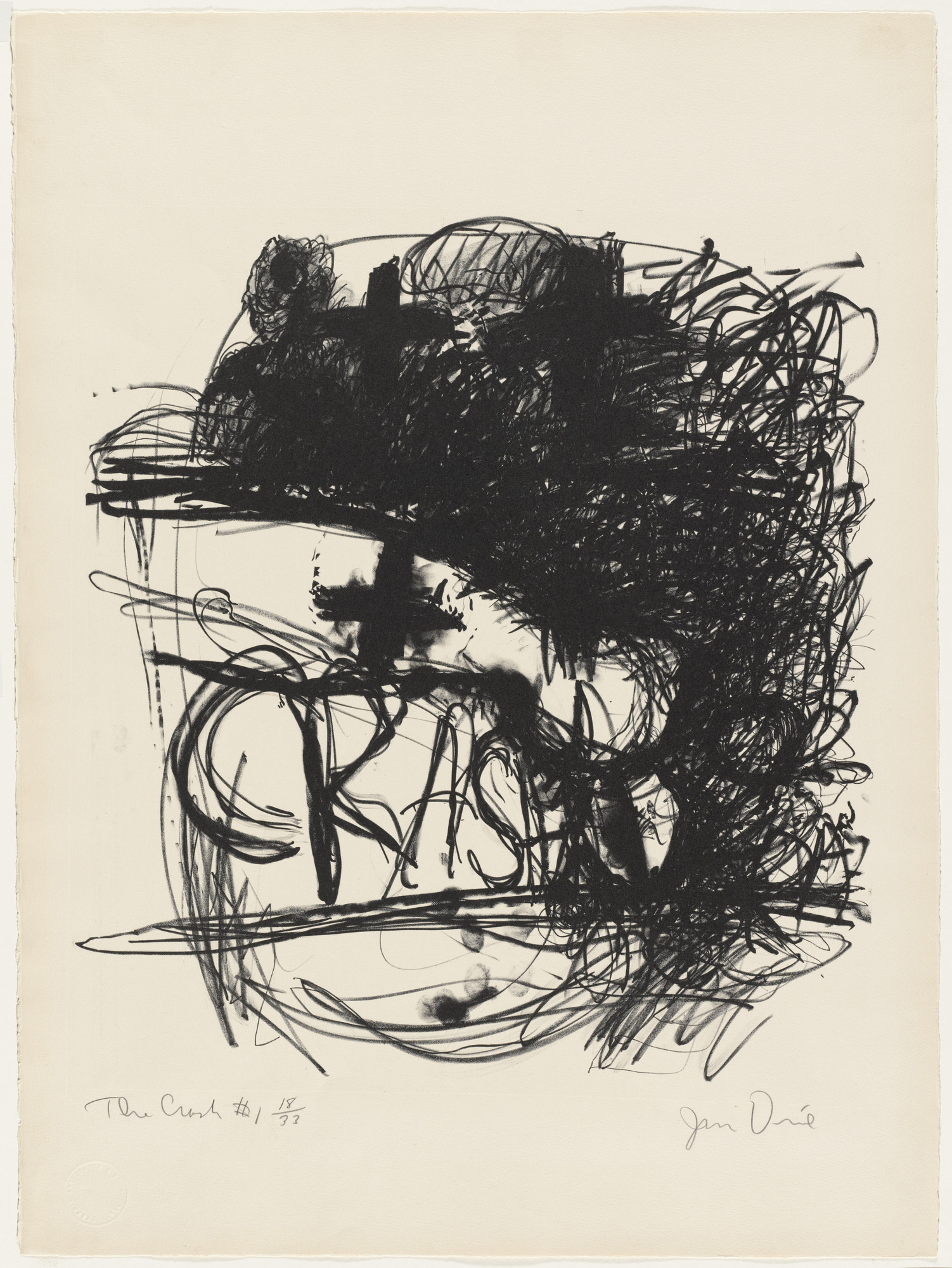 Jim Dine. Car Crash I. (1960)