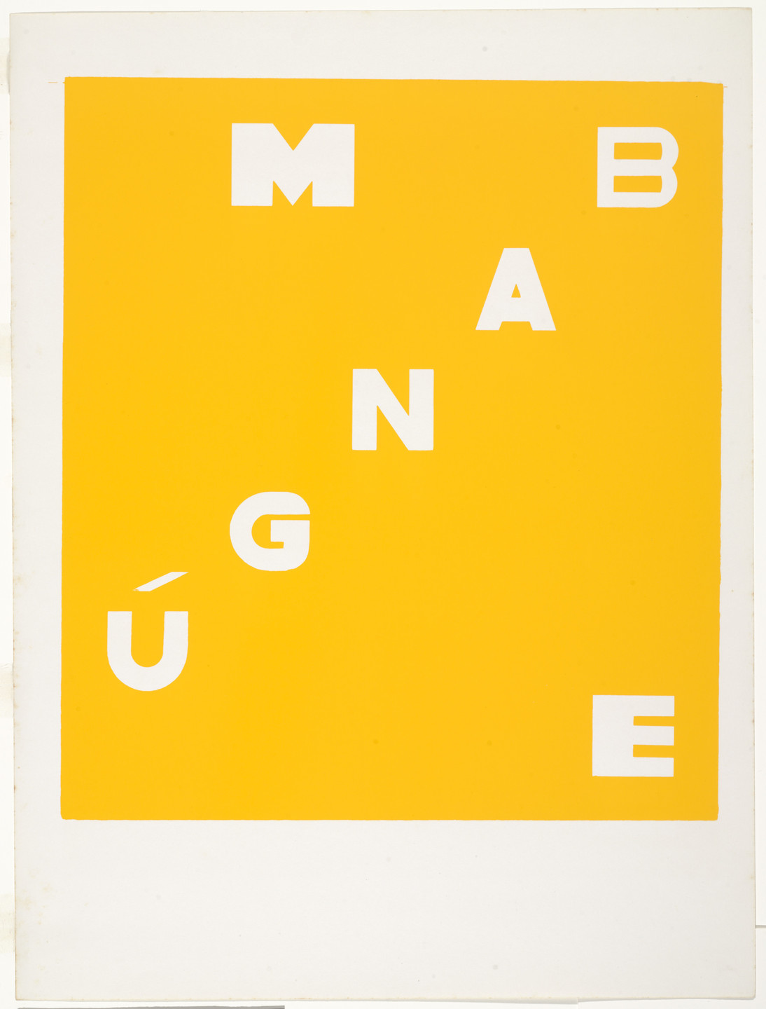 "Hélio Oiticica. Mangue Bangú – excerpt from ""Homage to Father"" (Mangue Bangú – excerto de ""Homage to father""). 1972"