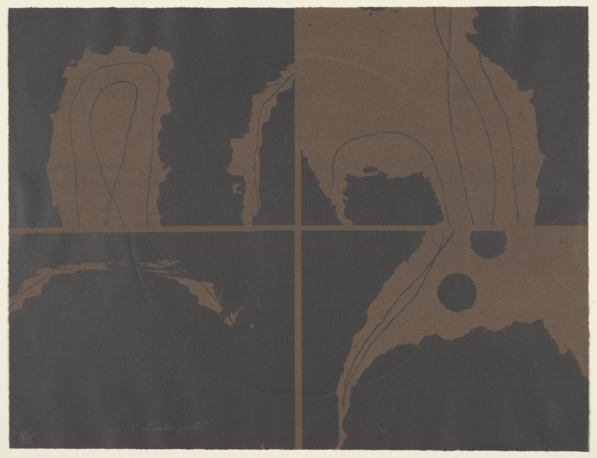 Louise Nevelson. Dusk in August from 9. 1967