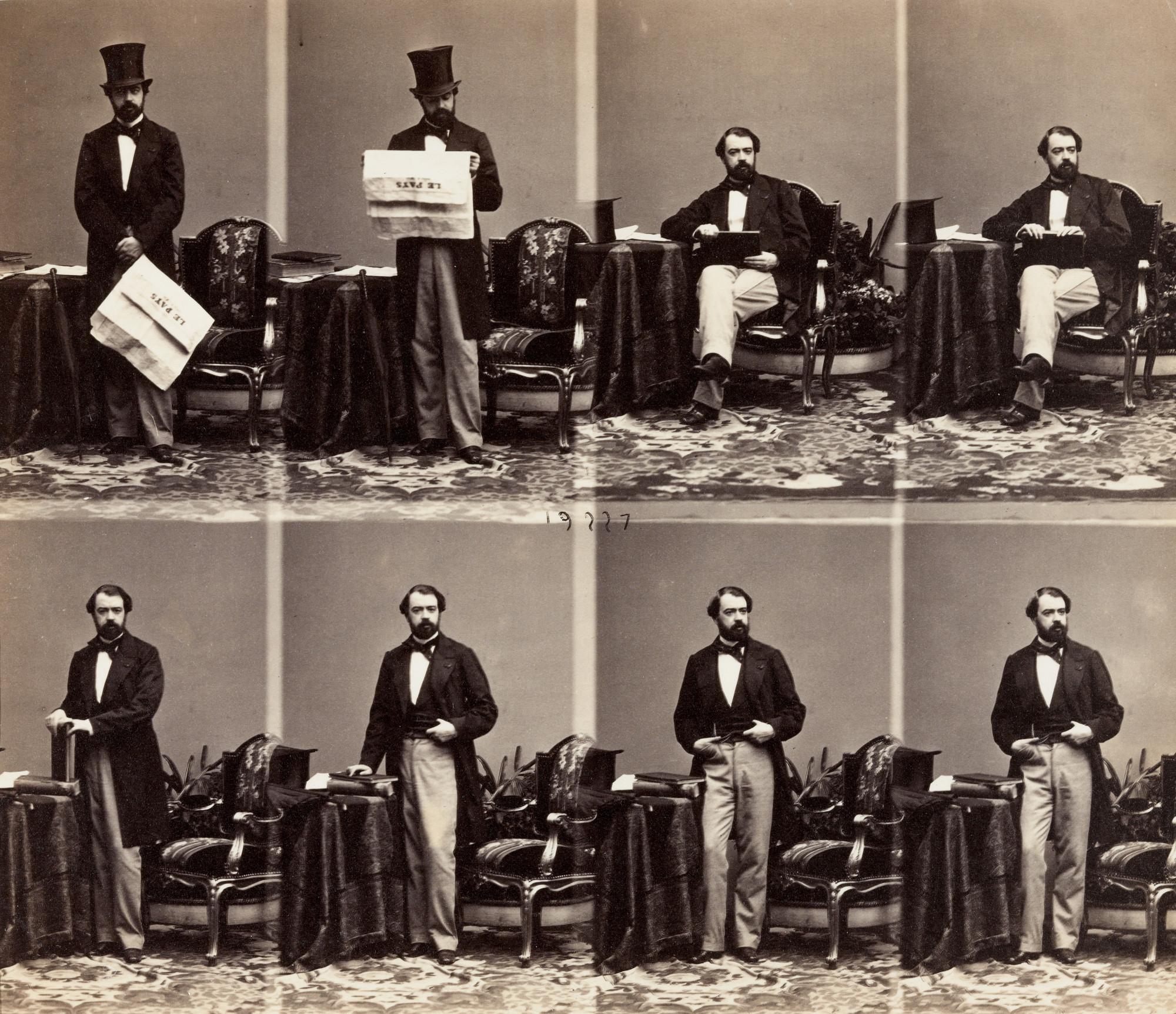 Andre Adolphe Eugene Disderi Jose Manuel Hidalgo 1860