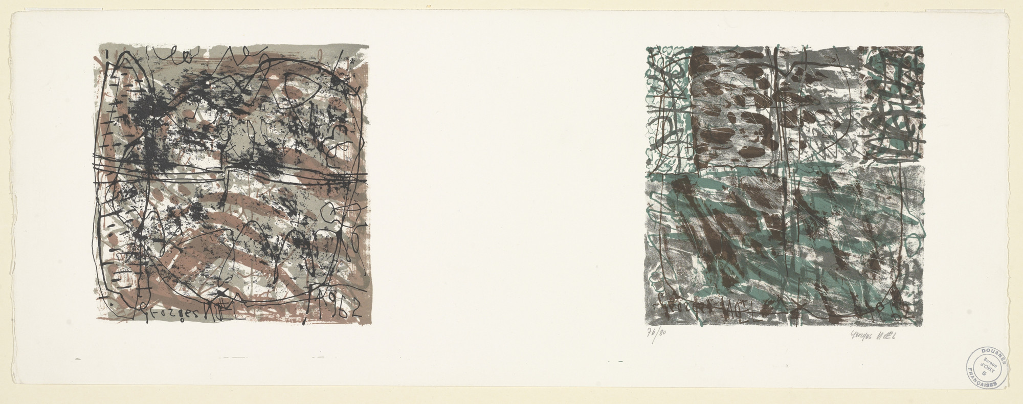 Georges Noël. Untitled. 1962
