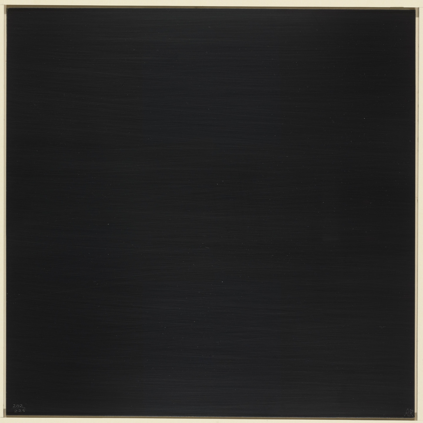 Ad Reinhardt. Abstract Print from New York International. 1966