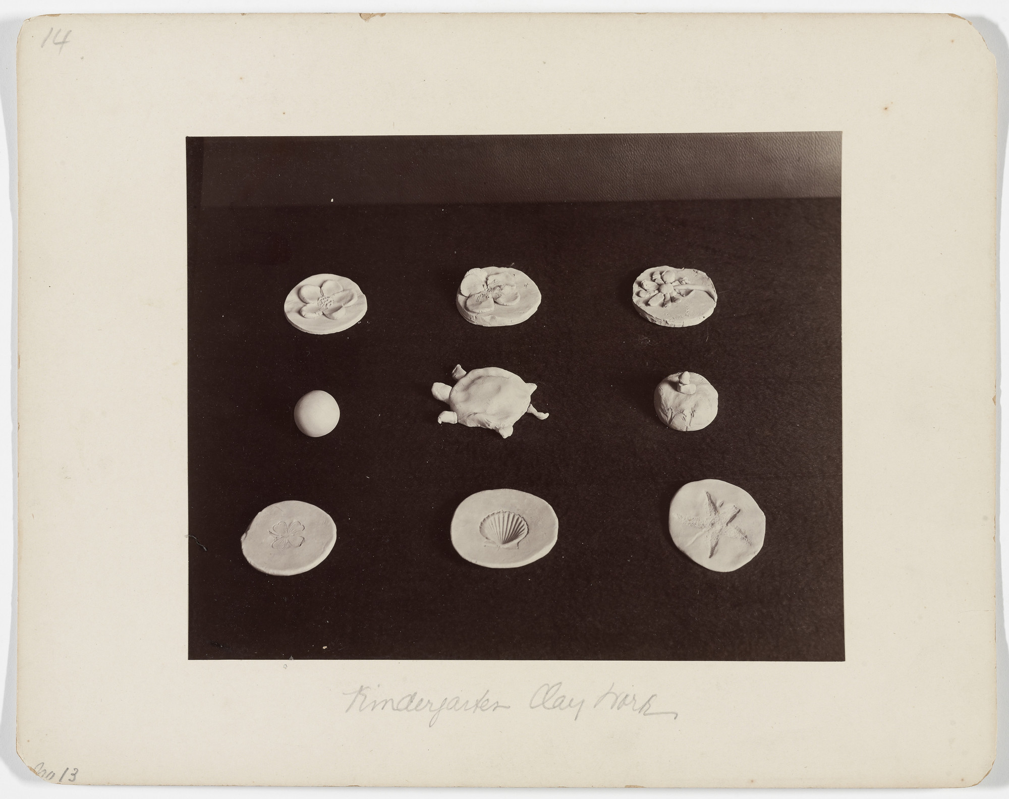 Unknown Artist. Gift 20-Clay (Kindergarten material based on the educational theories of Friedrich Froebel). 1899