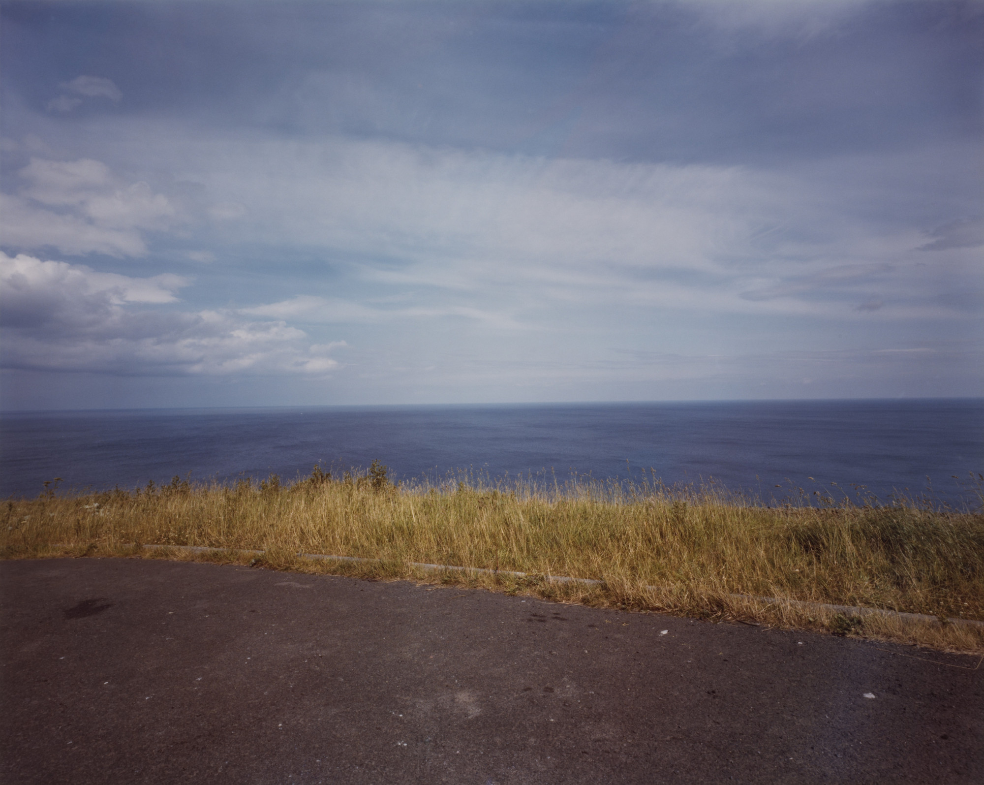Paul Graham. North Sea, Borders from the portfolio A1: The Great North Road. May 1981