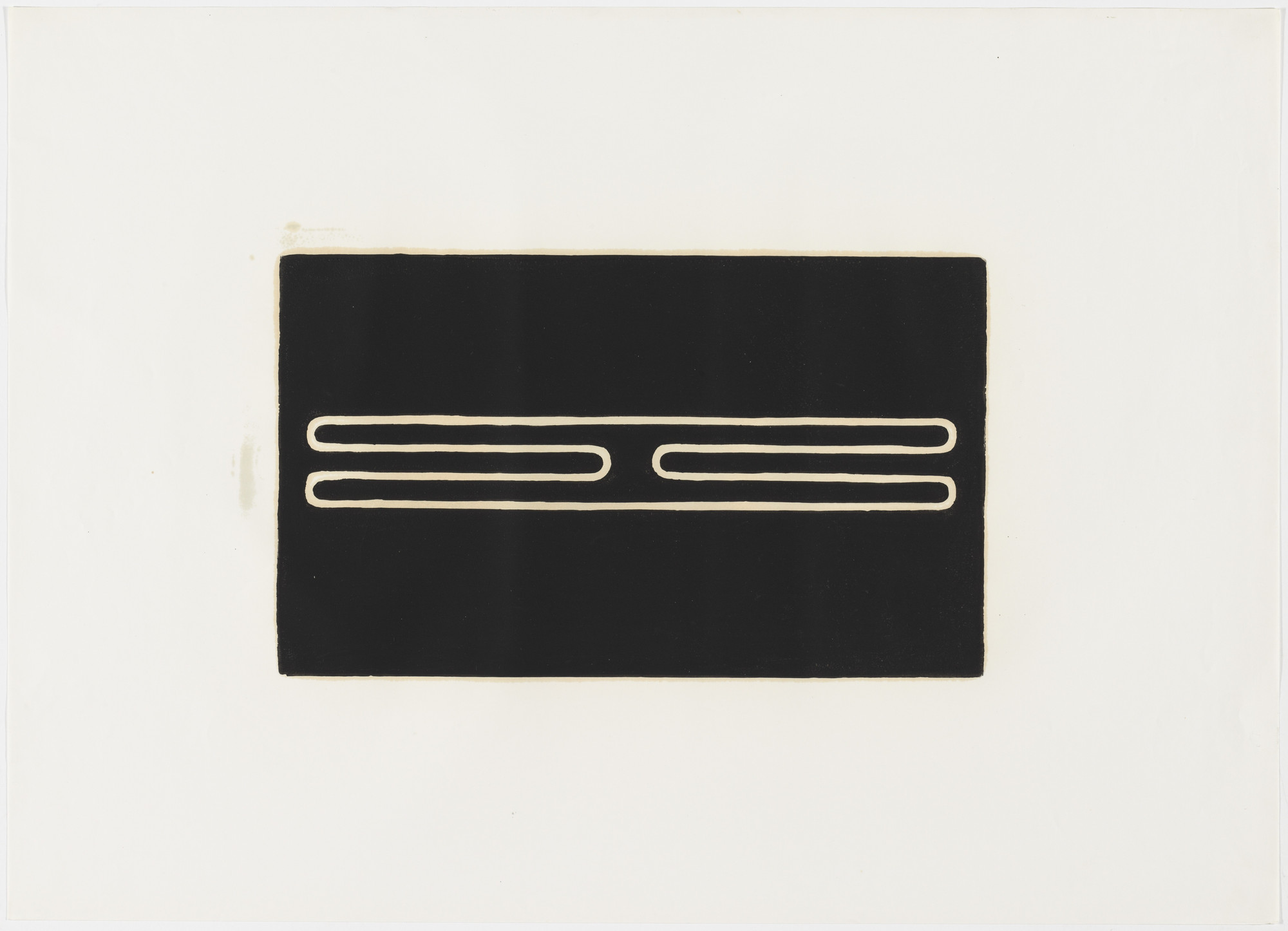 Donald Judd. Untitled. 1961, printed 1979