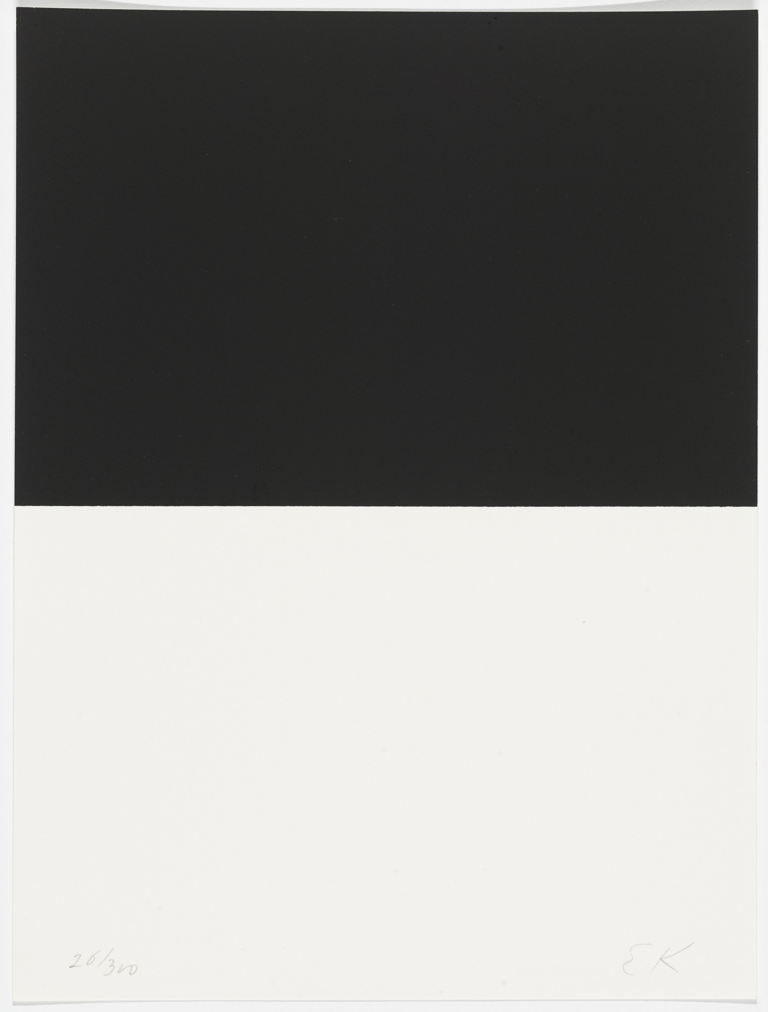 Ellsworth Kelly. Untitled from The New York Collection for Stockholm. 1973