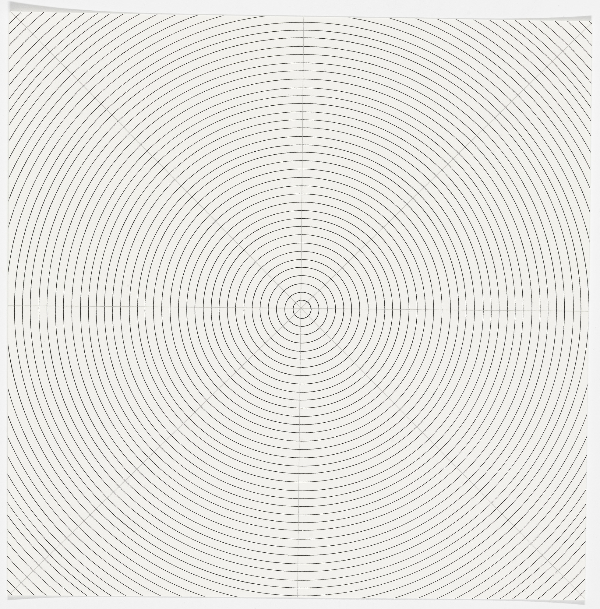 Sol LeWitt. Circles from The New York Collection for Stockholm. 1973