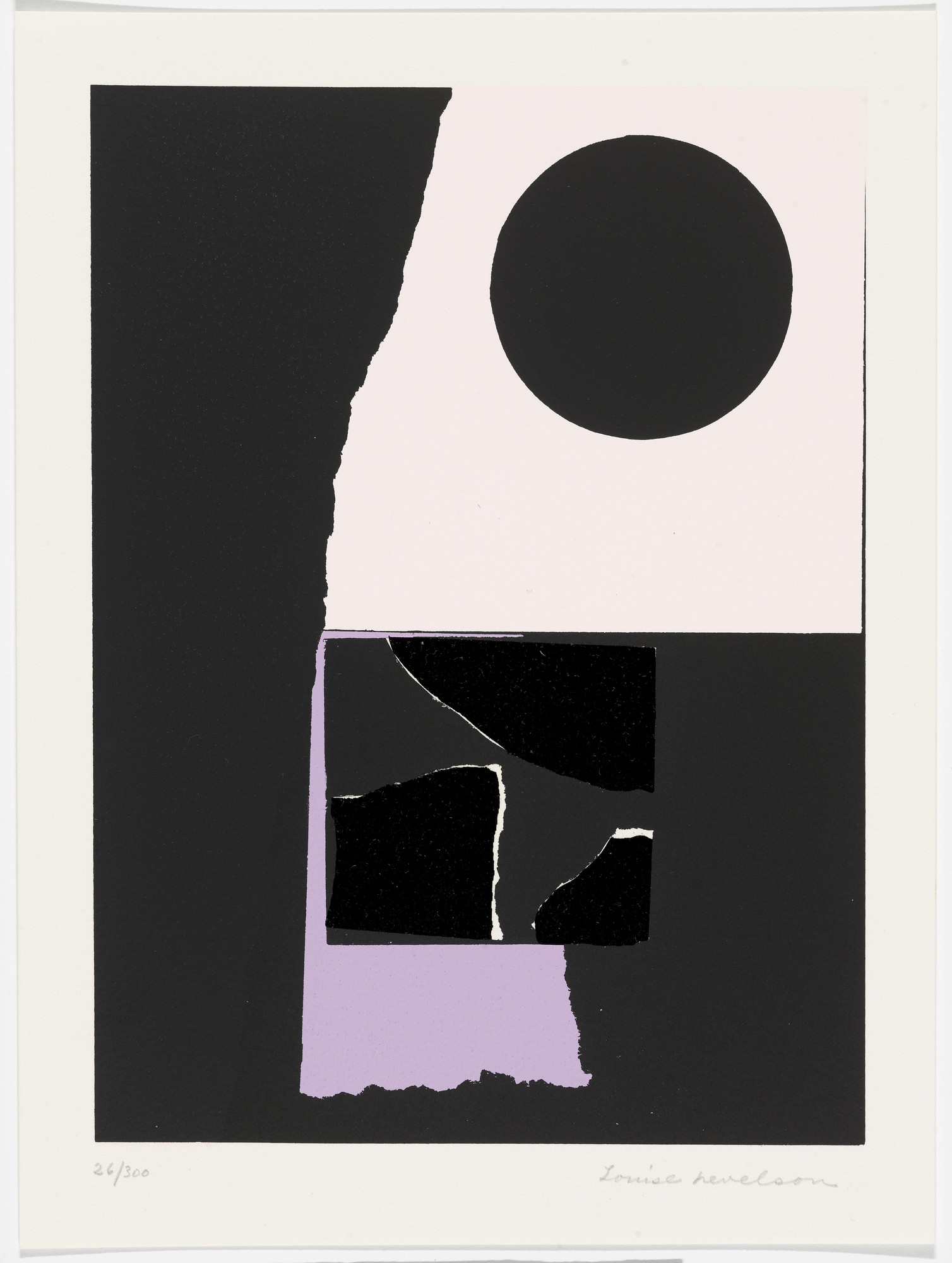 Louise Nevelson. Untitled from The New York Collection for Stockholm. 1973