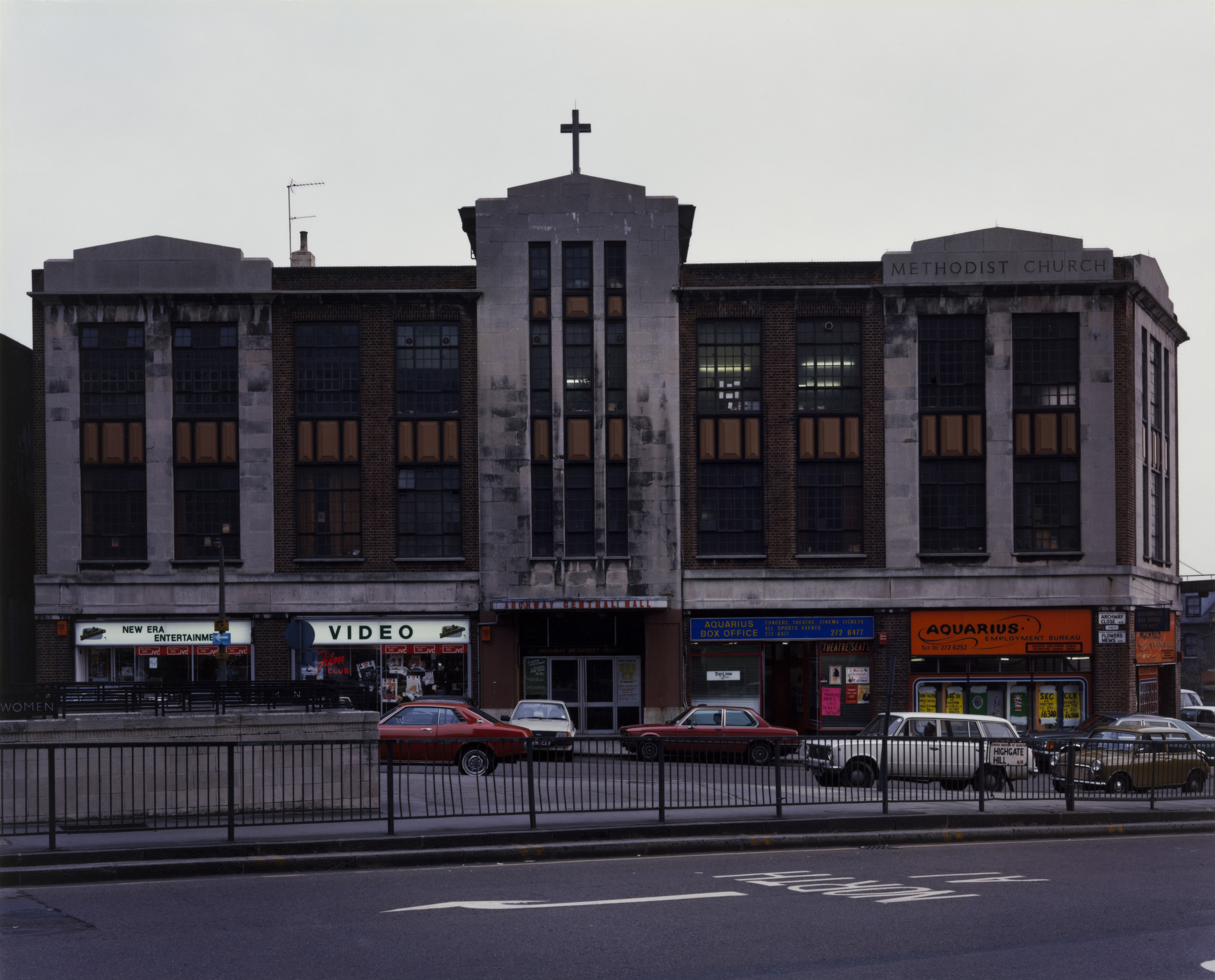 Paul Graham. Old Methodist Church, Archway, North London from the portfolio A1: The Great North Road. November 1982 | MoMA