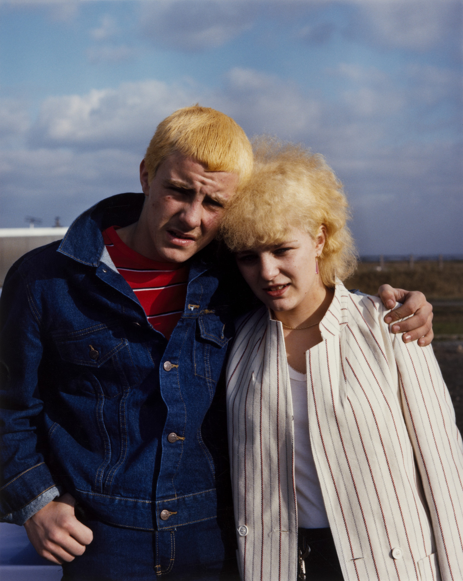 Paul Graham. Couple on Day-Trip, Washington Services, Tyne and Wear. May 1982