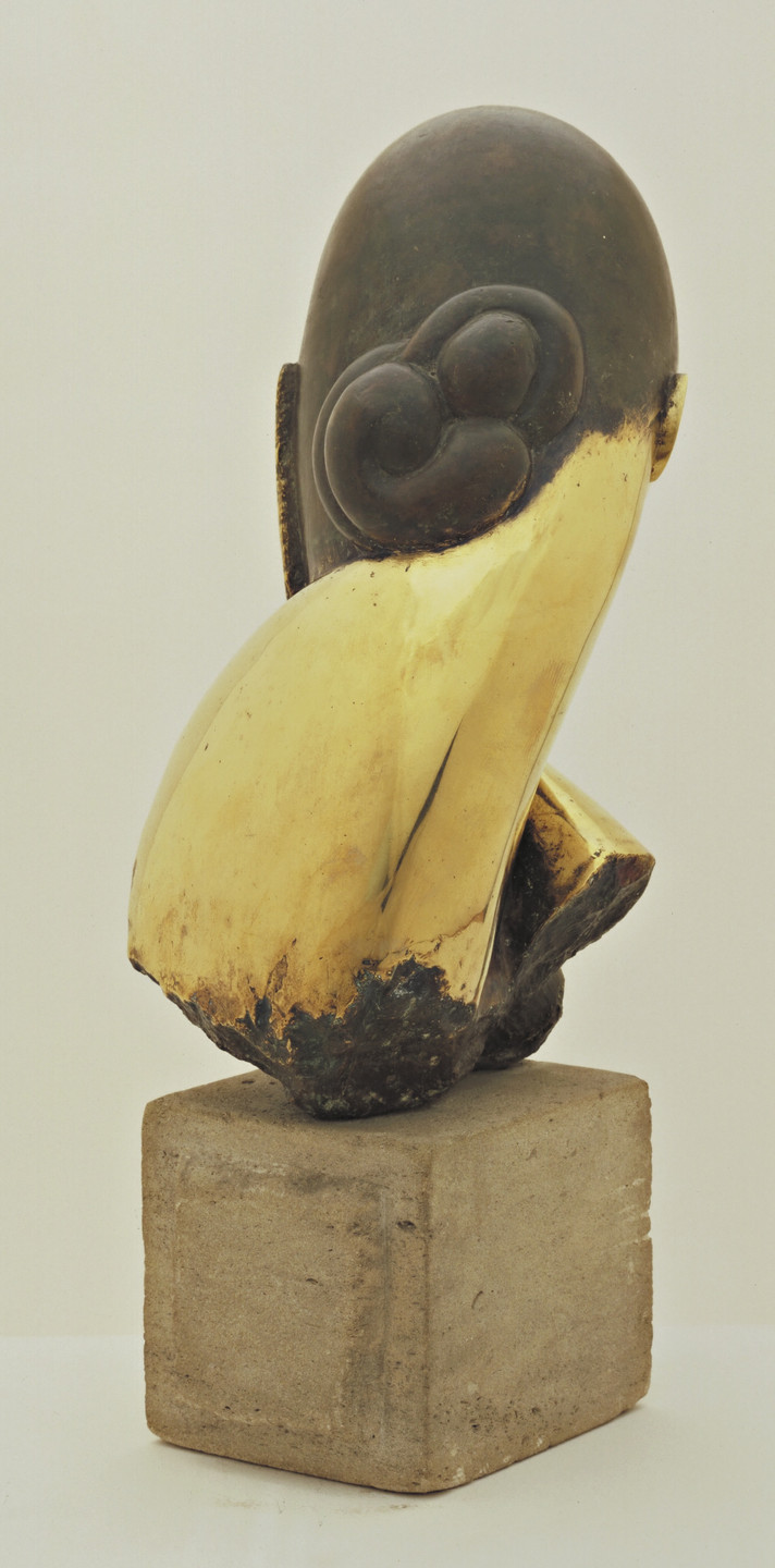 Constantin Brâncuși. Mlle Pogany. version I, 1913 (after a marble of 1912)
