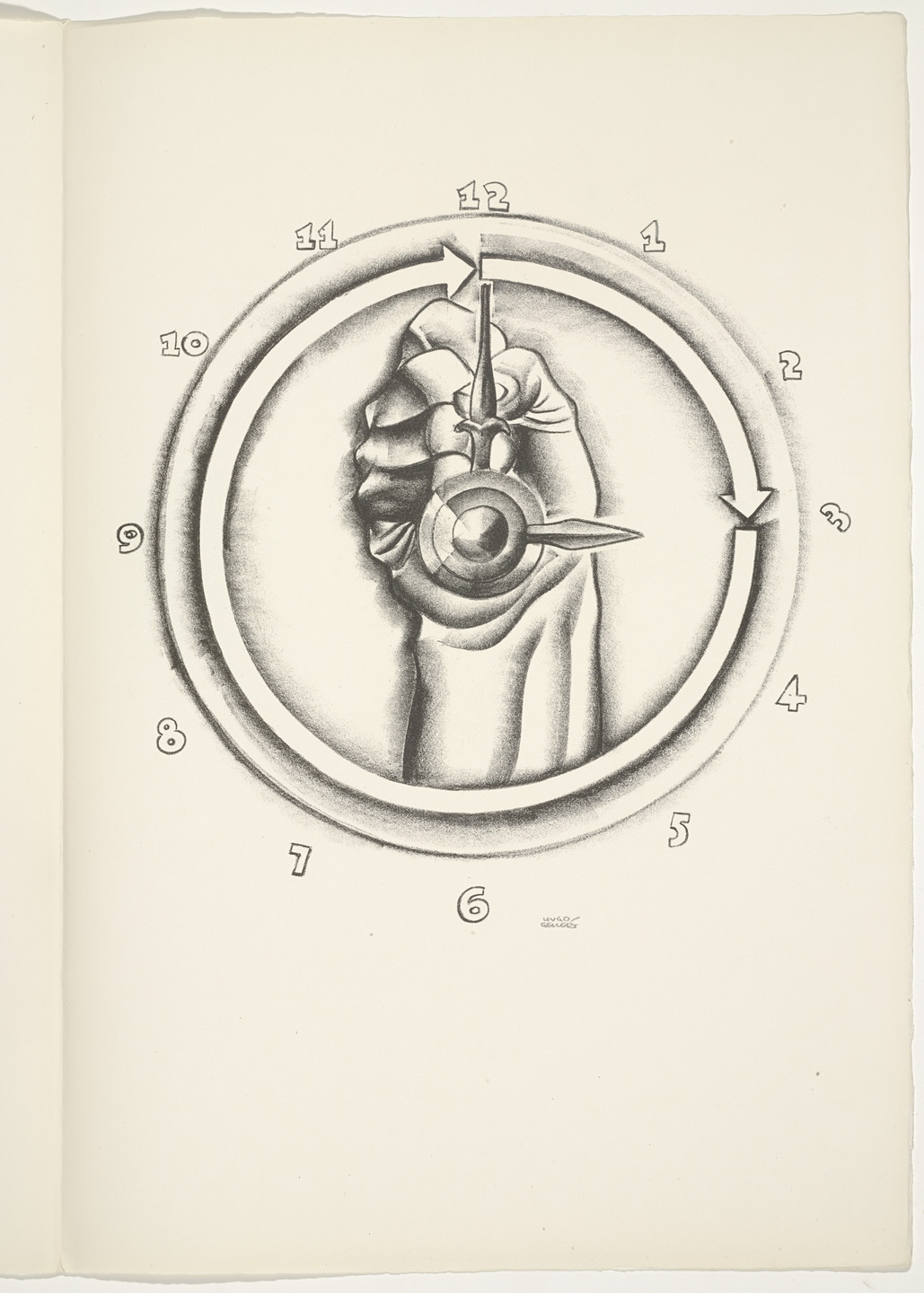 Hugo Gellert. Plate (folio 82) from 'Capital' in Pictures. 1933