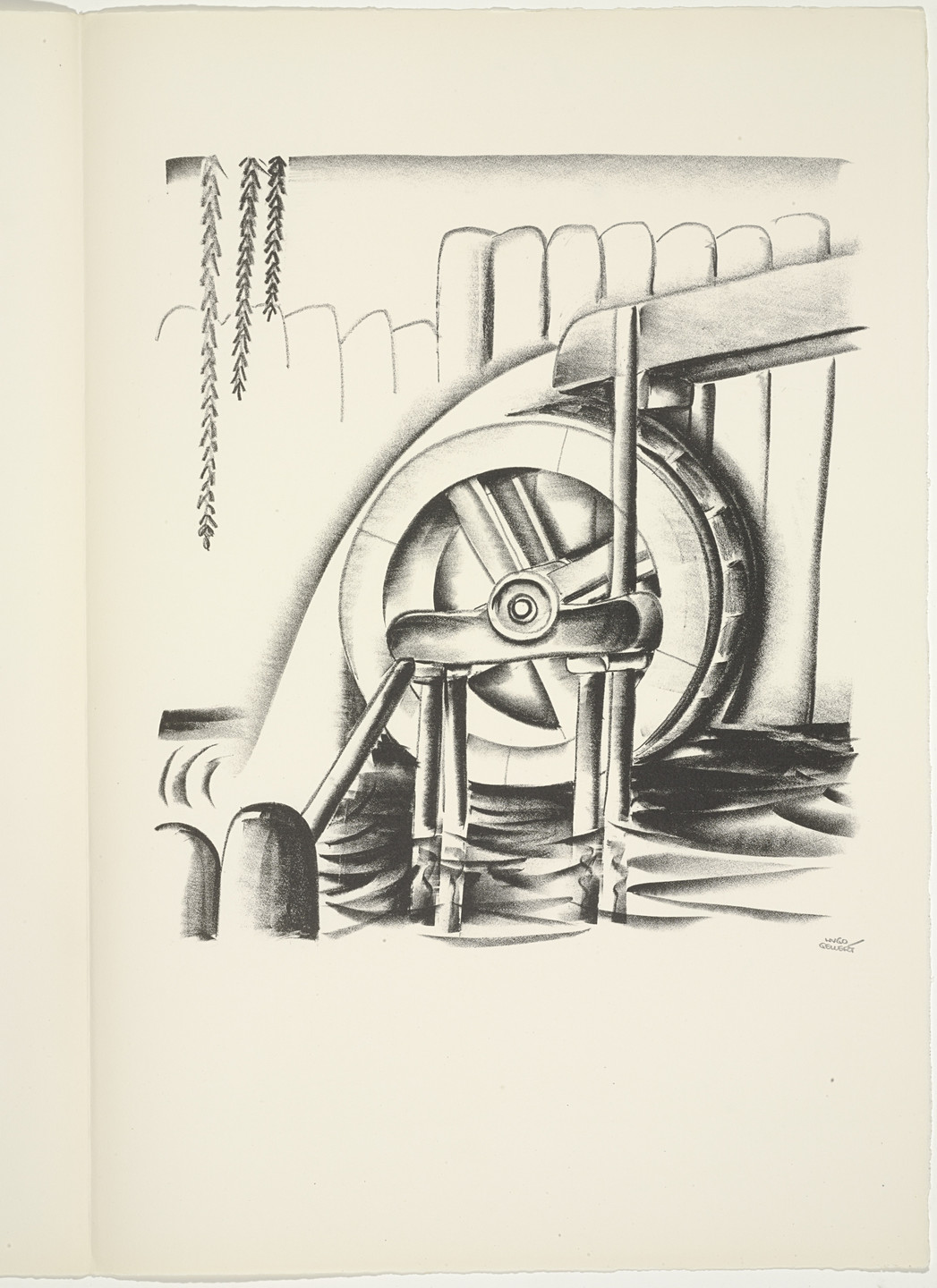 Hugo Gellert. Plate (folio 88) from 'Capital' in Pictures. 1933