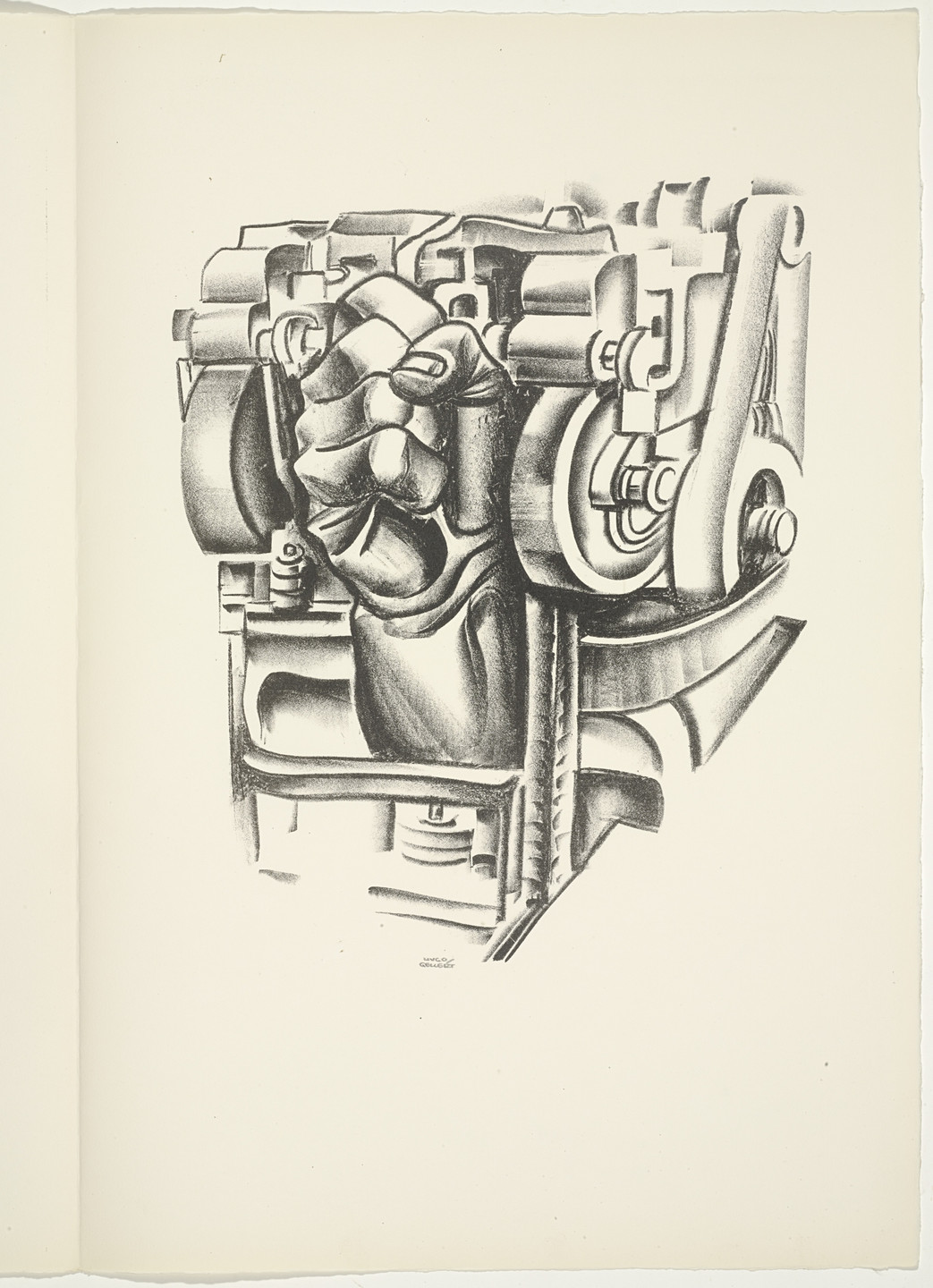 Hugo Gellert. Plate (folio 94) from 'Capital' in Pictures. 1933