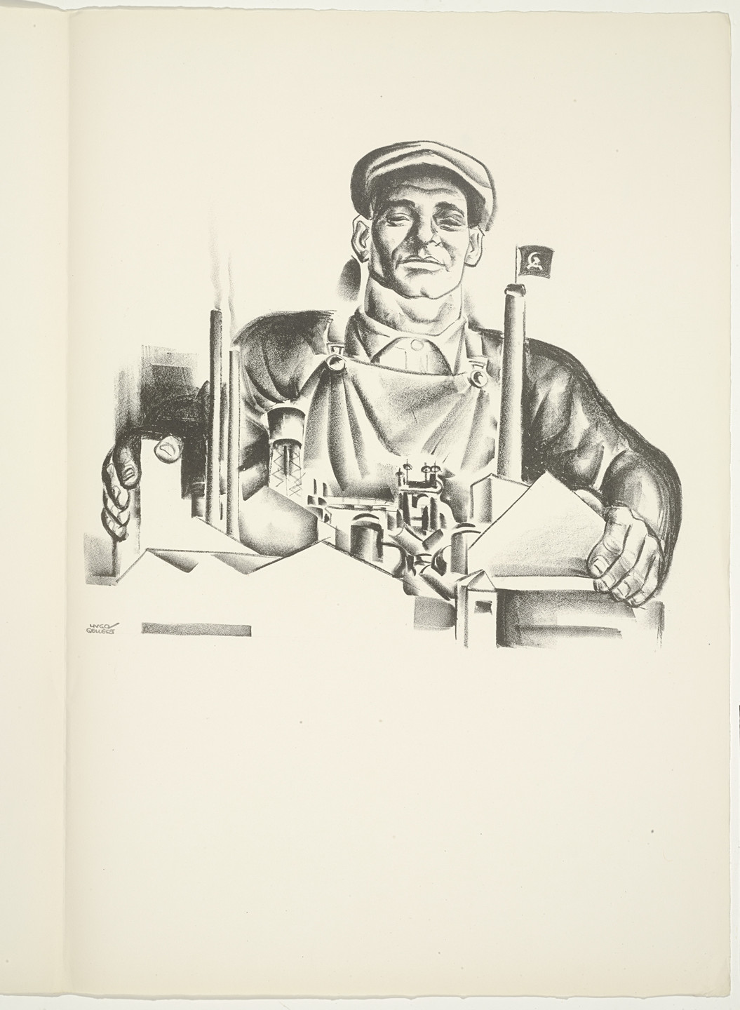 Hugo Gellert. Plate (folio 104) from 'Capital' in Pictures. 1933