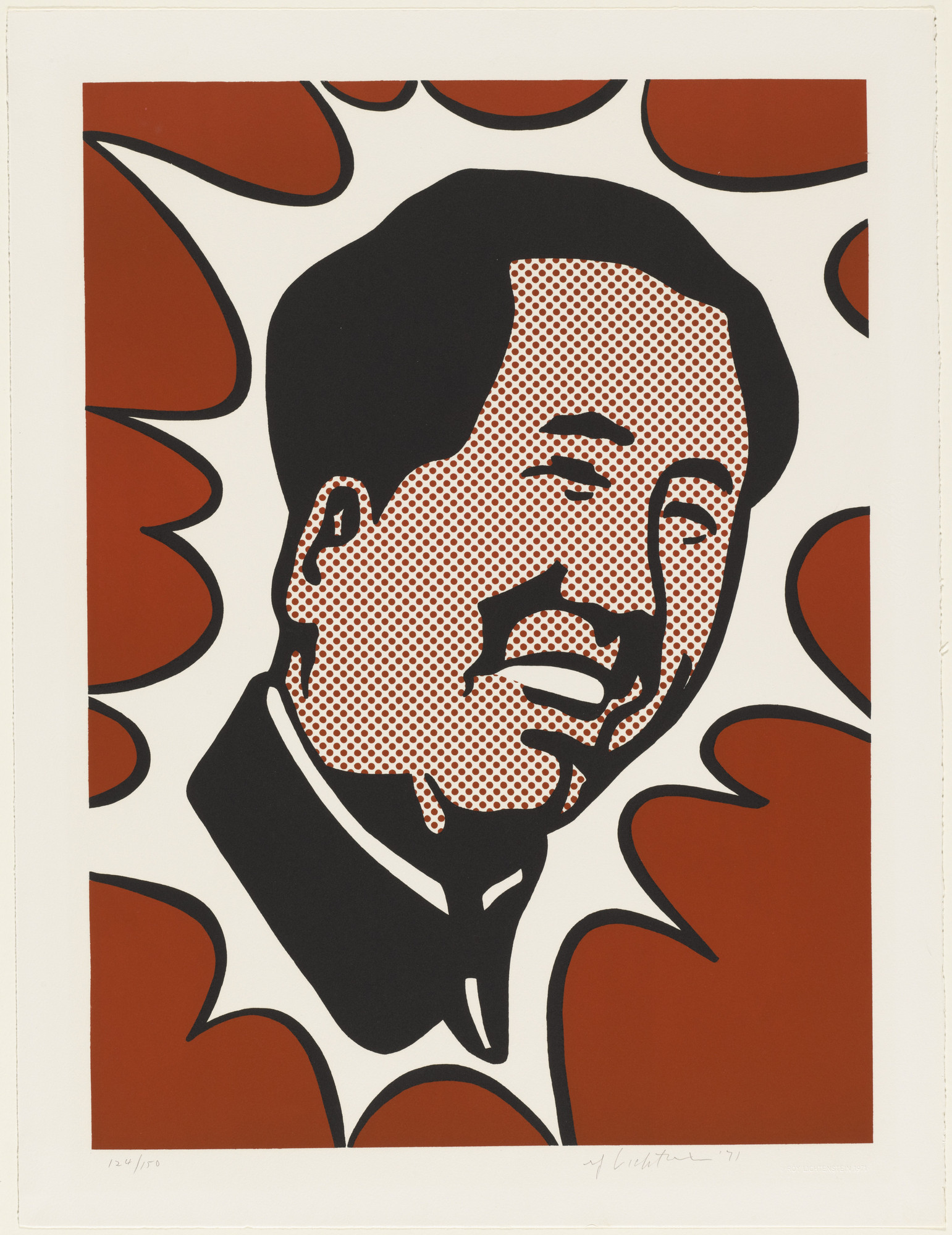 Roy Lichtenstein. The Adventures of Mao on the Long March. 1971