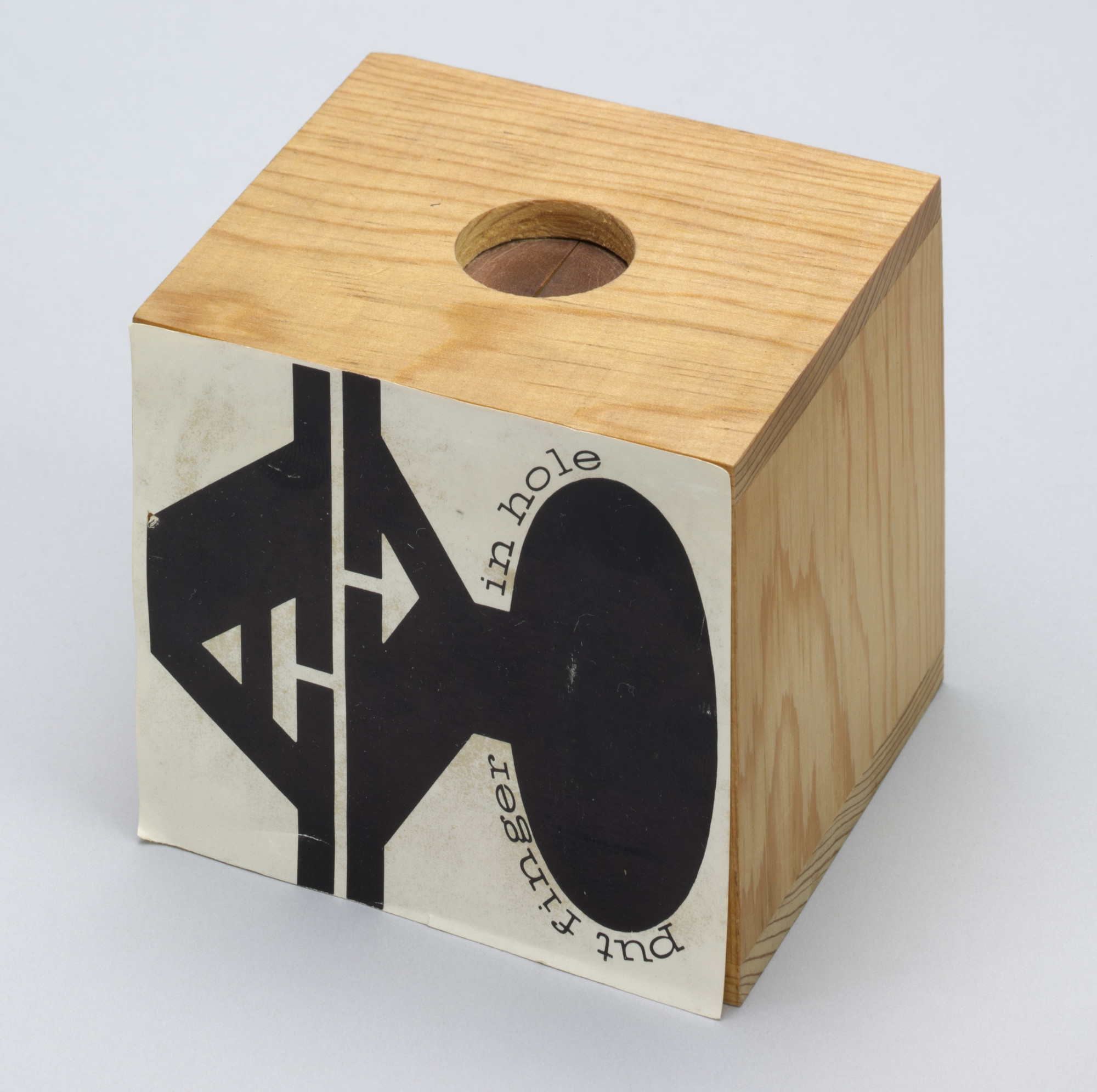Ay-O. Put Finger in Hole from Fluxkit. 1965