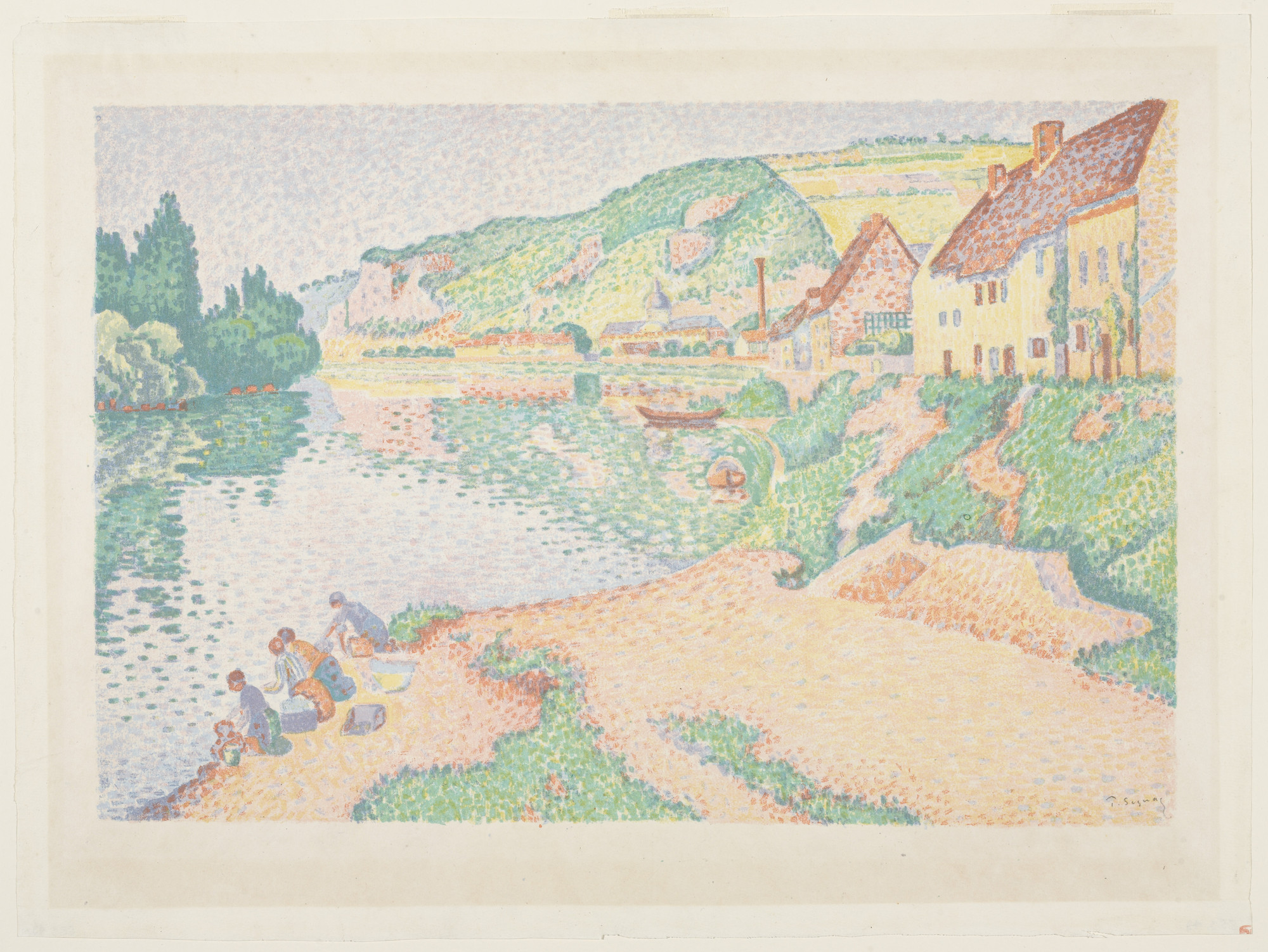 Paul Signac. The Andelys. 1895