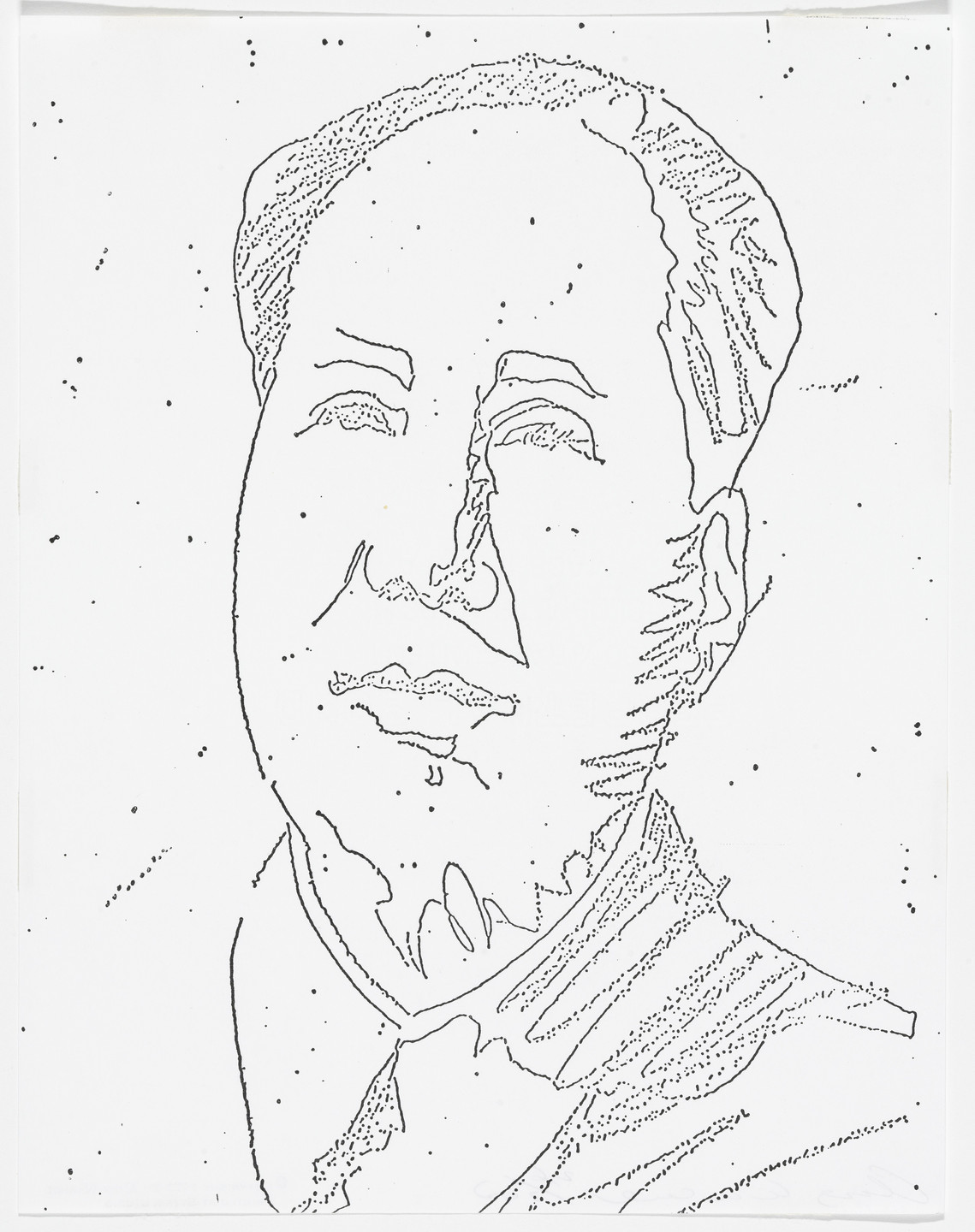 Andy Warhol. Mao from The New York Collection for Stockholm. 1973