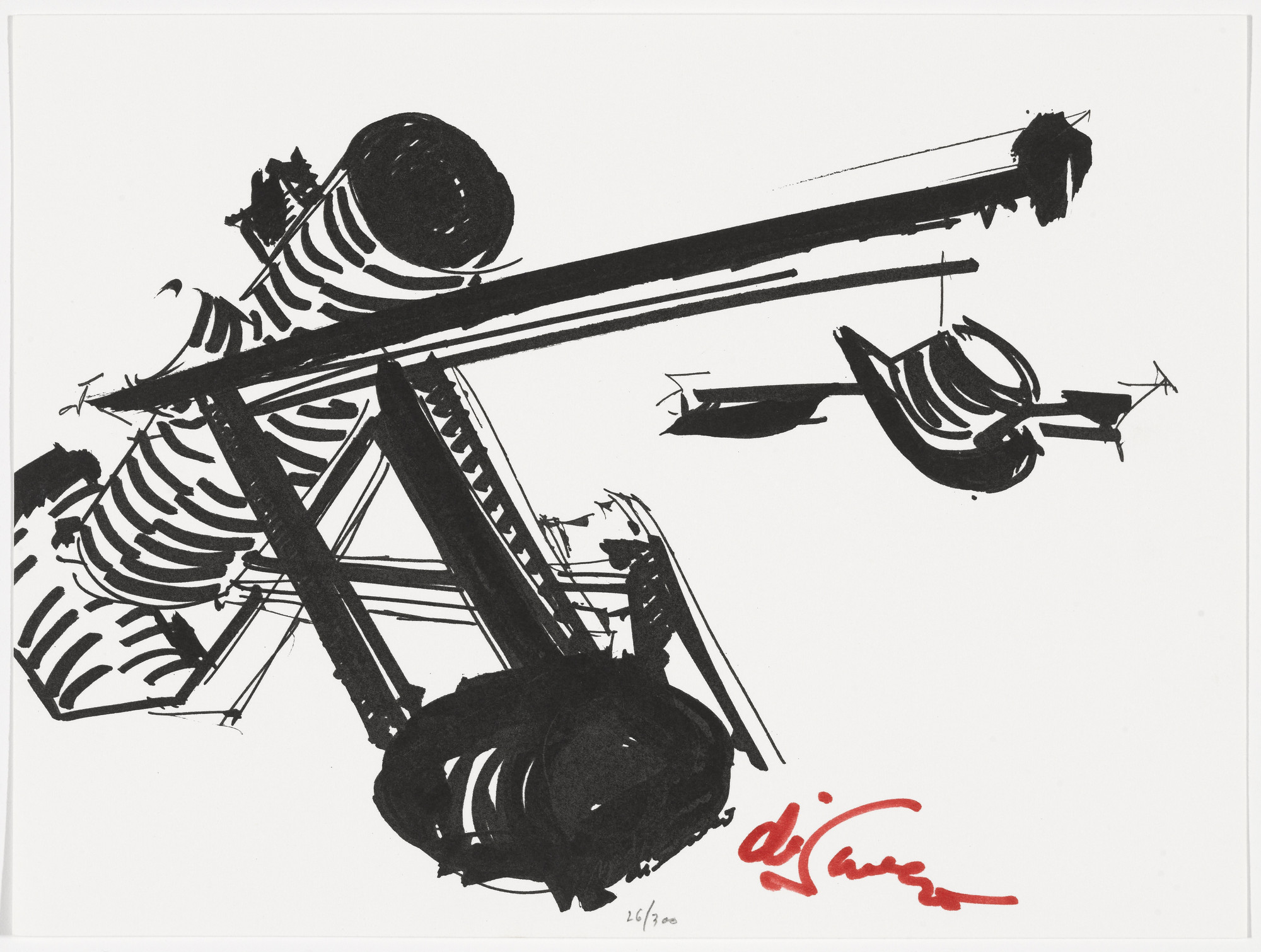 Mark di Suvero. Untitled from The New York Collection for Stockholm. 1973