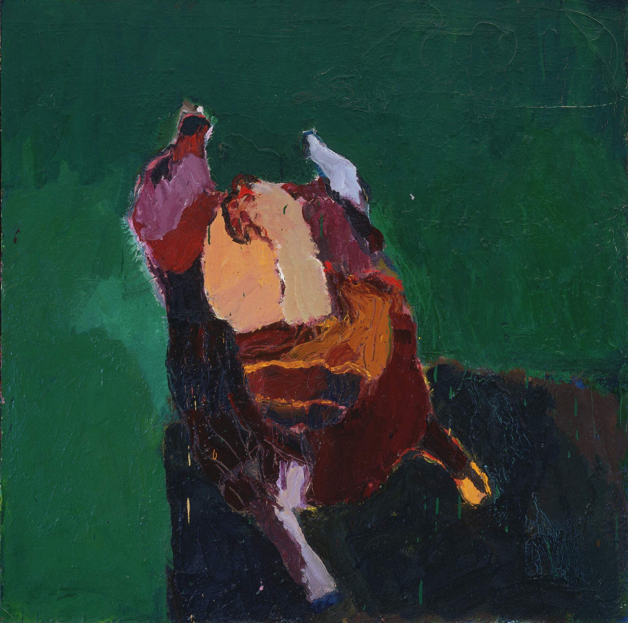 Joan Brown. Thanksgiving Turkey. 1959