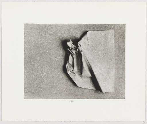 Liliana Porter. Plate VII from Wrinkle. 1968